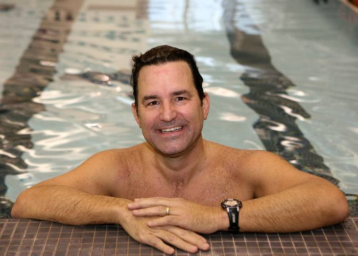 Being able to swim long distances for hours in cold, ocean water, Barrington's Don Macdonald proved a perfect candidate for a hypothermia treatment that saved his life.