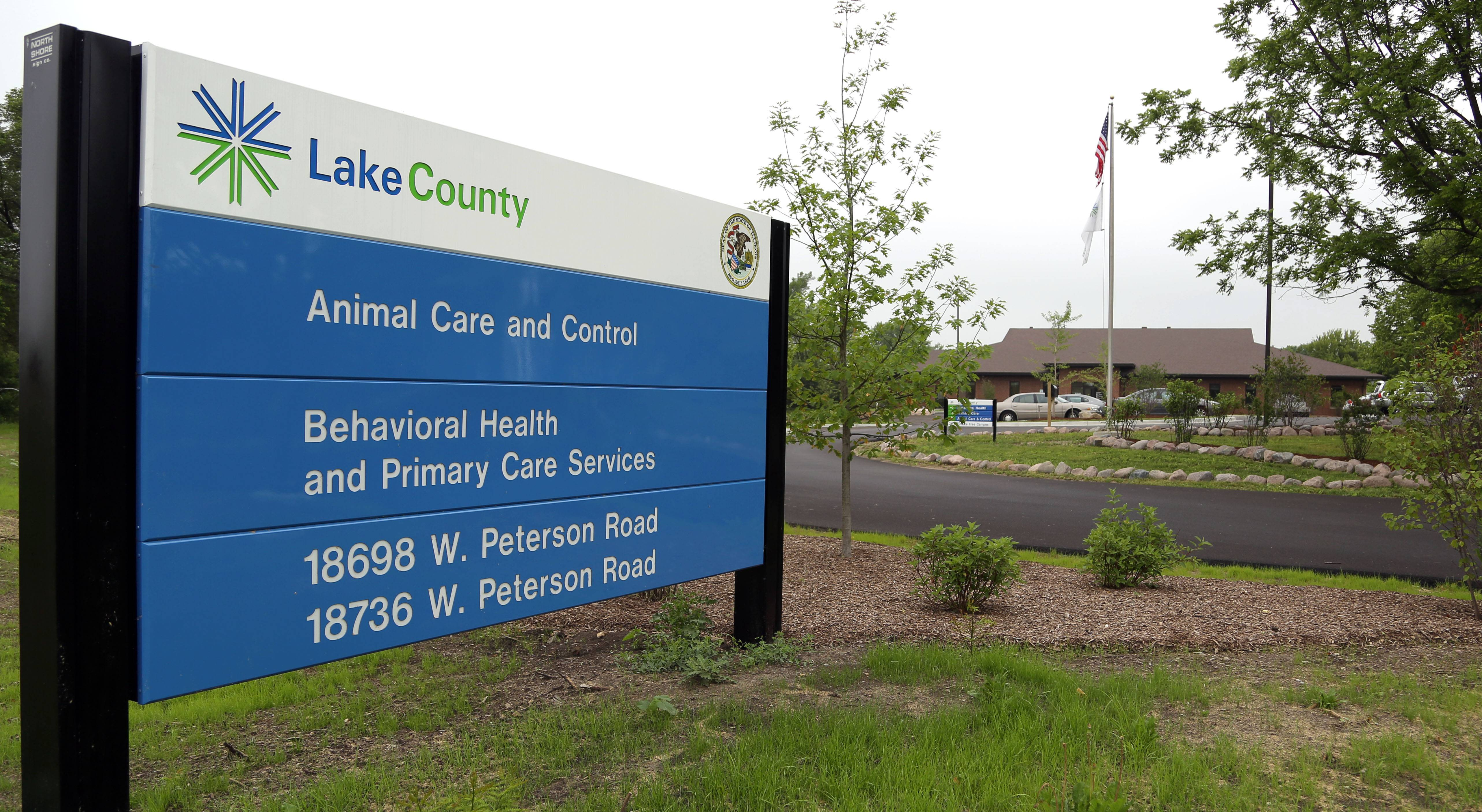 The new Lake County Animal Care and Control facility on Peterson Road in Libertyville is scheduled to open July 25. The facility cost $3.5 million to build.