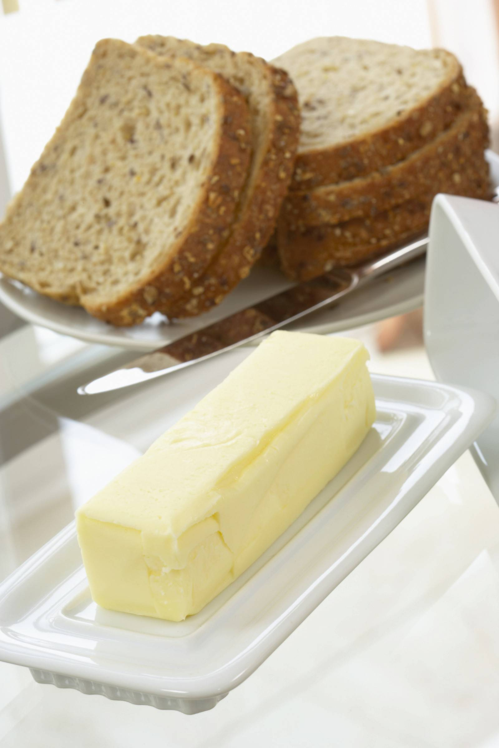 Americans are choosing butter over margarine more often these days, with butter consumption up more than 21 percent since 1997.