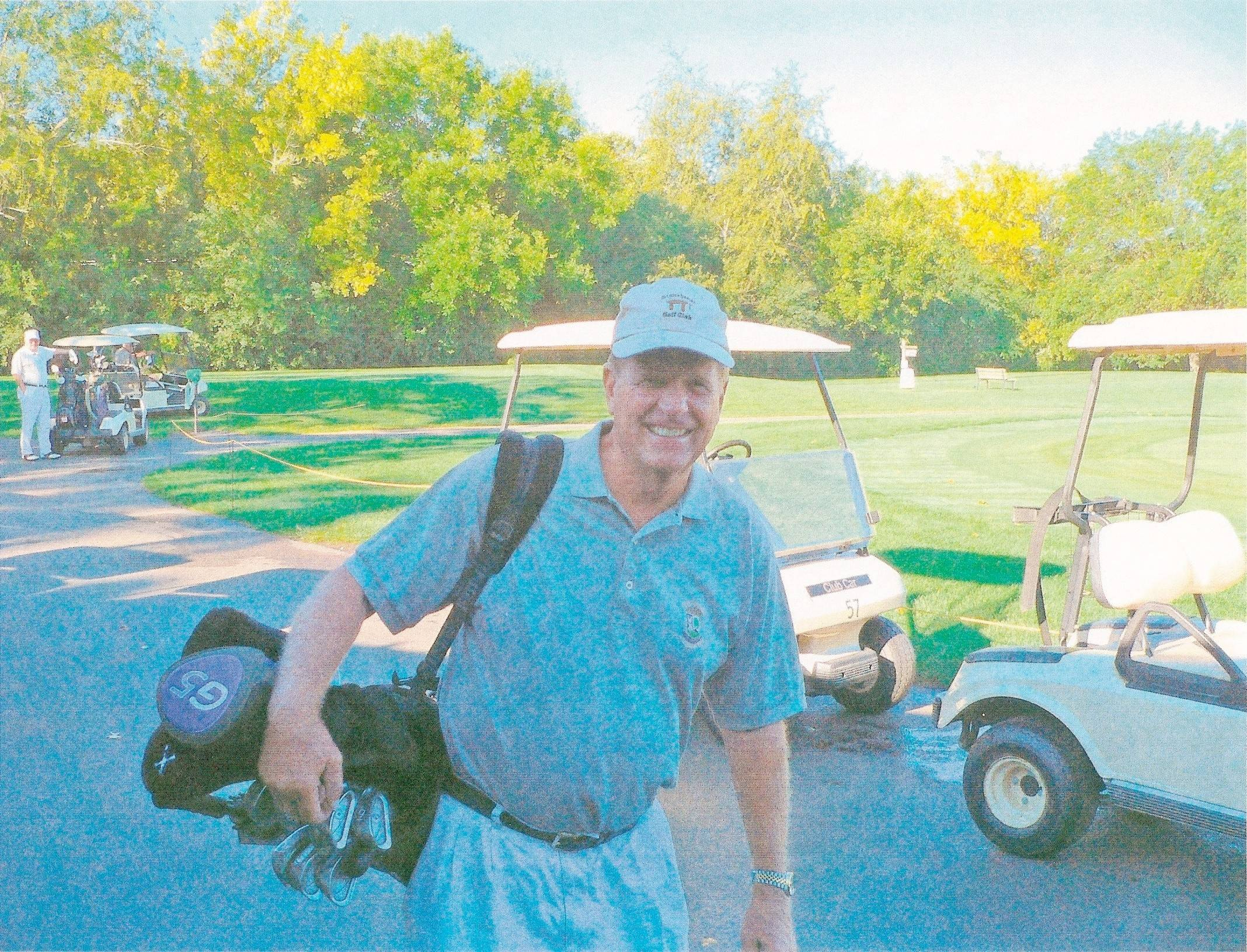 Joe Perica, 70, of Arlington Heights hit holes in one at the Stonehenge Golf Club in Barrington on June 9 and June 16. He has hit four holes in one in his lifetime.