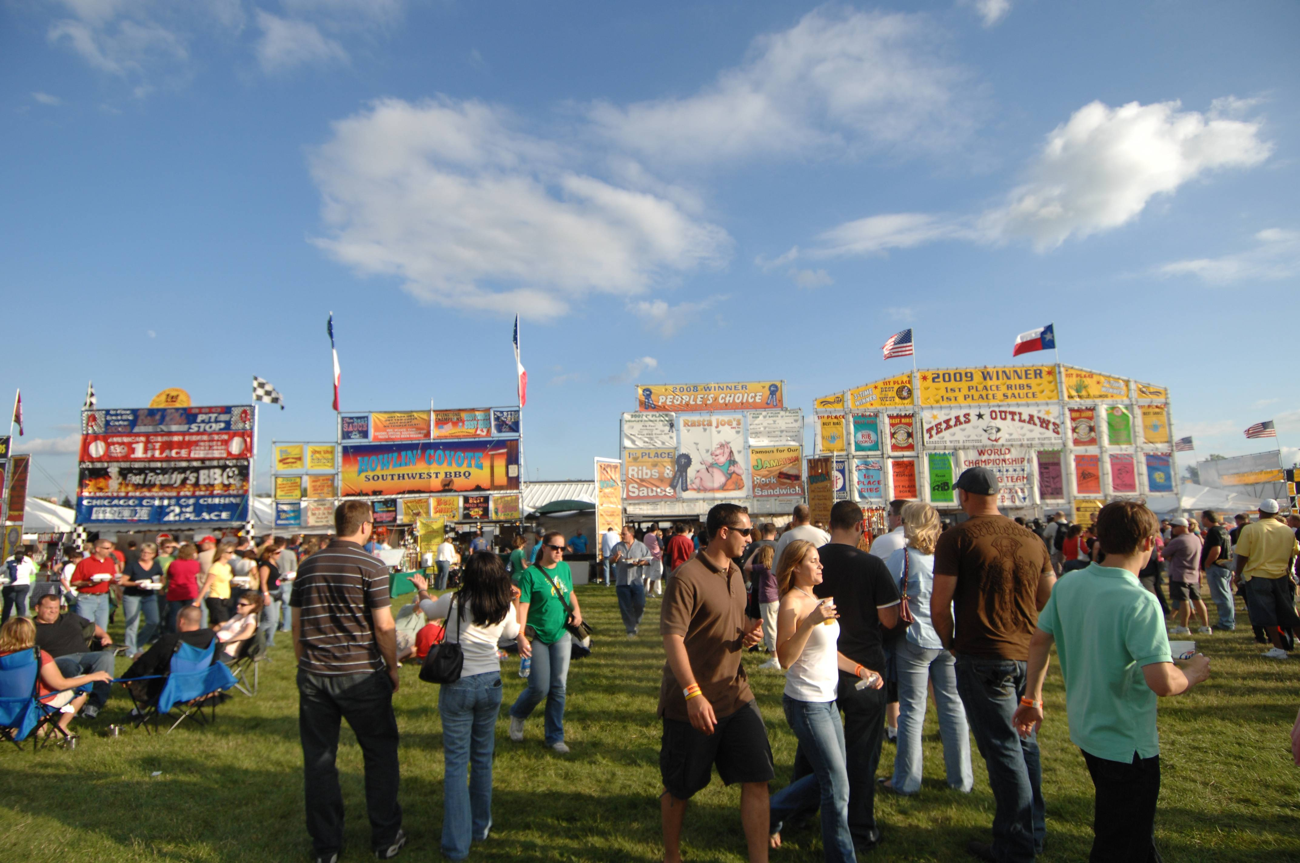 """Ribber Row"" at Ribfest in Naperville will include 12 vendors selling barbecue favorites."