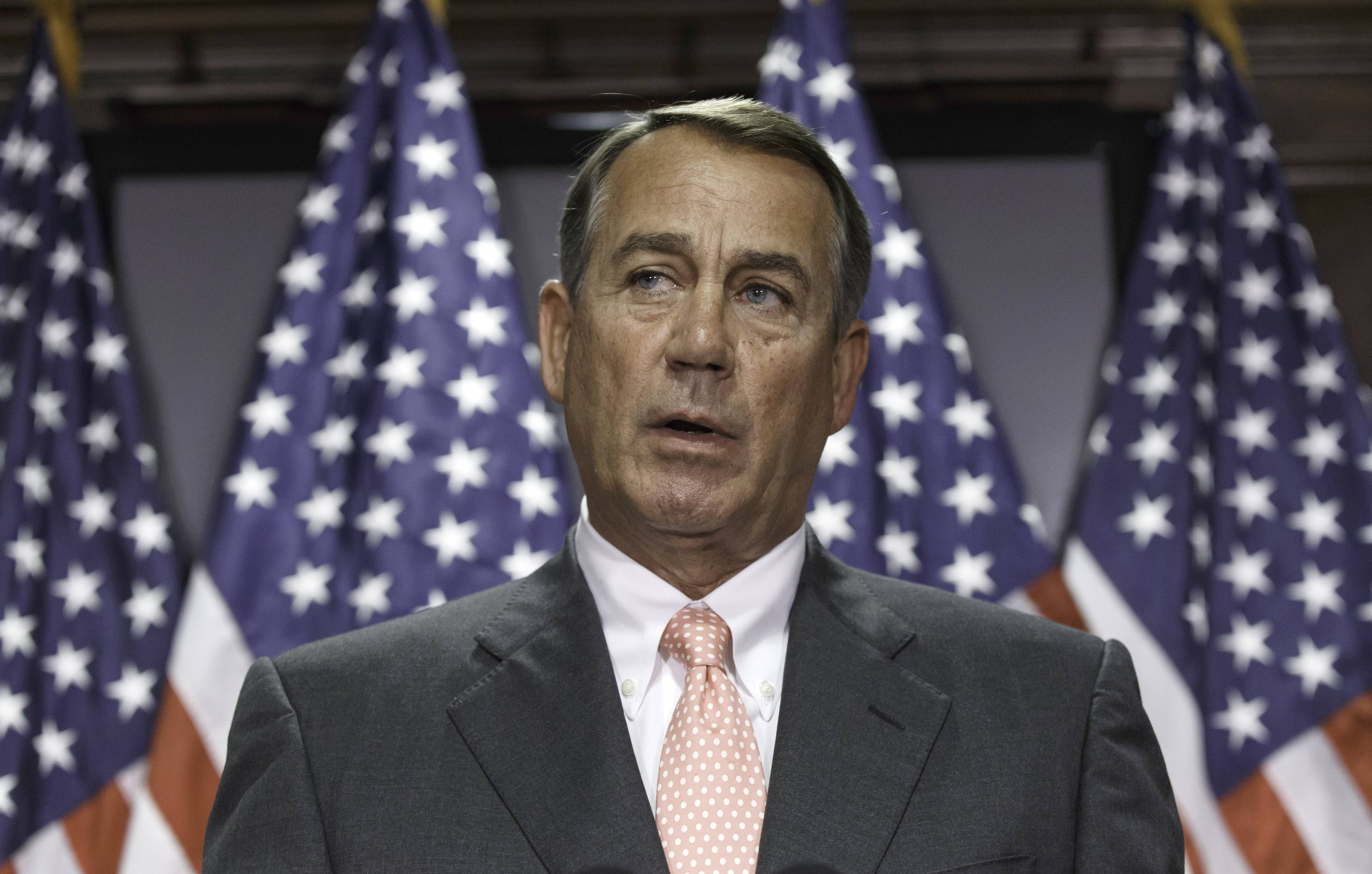 House Speaker John Boehner told President Barack Obama the House will not vote on overhauling the nation's troubled immigration system during this election year. So, Obama announced Monday he would deal with immigration through executive actions without congressional approval.