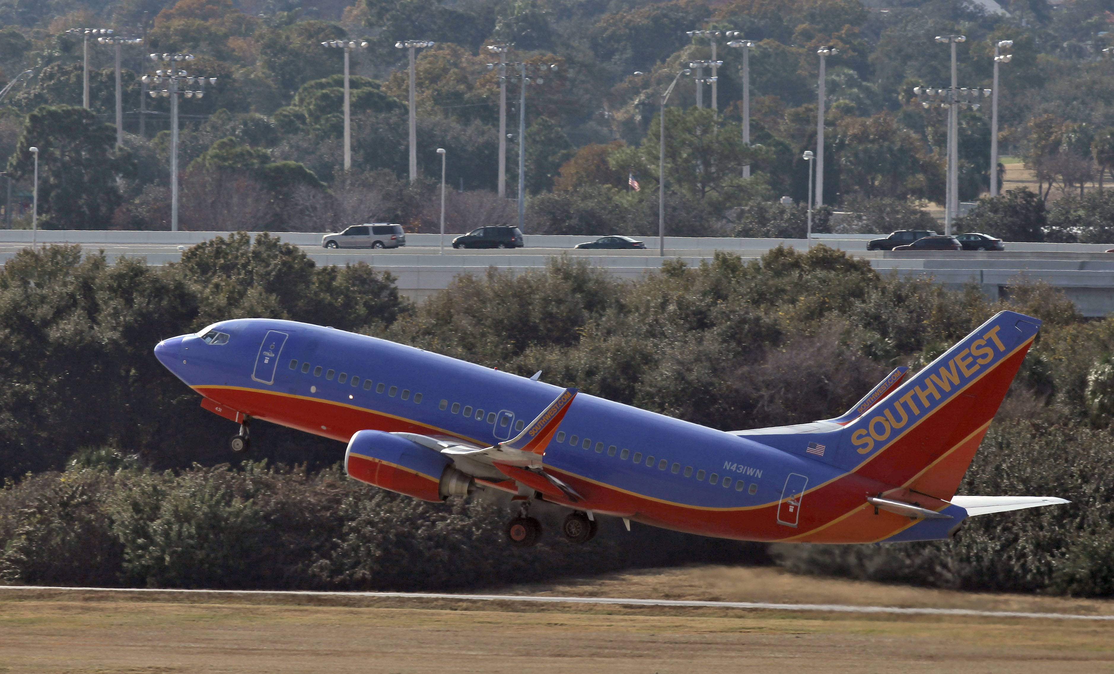 Taking over routes flown by AirTran Airways, Southwest Airlines flew into new territory on Tuesday -- Jamaica, the Bahamas and Aruba. Southwest purchased AirTran in 2011.