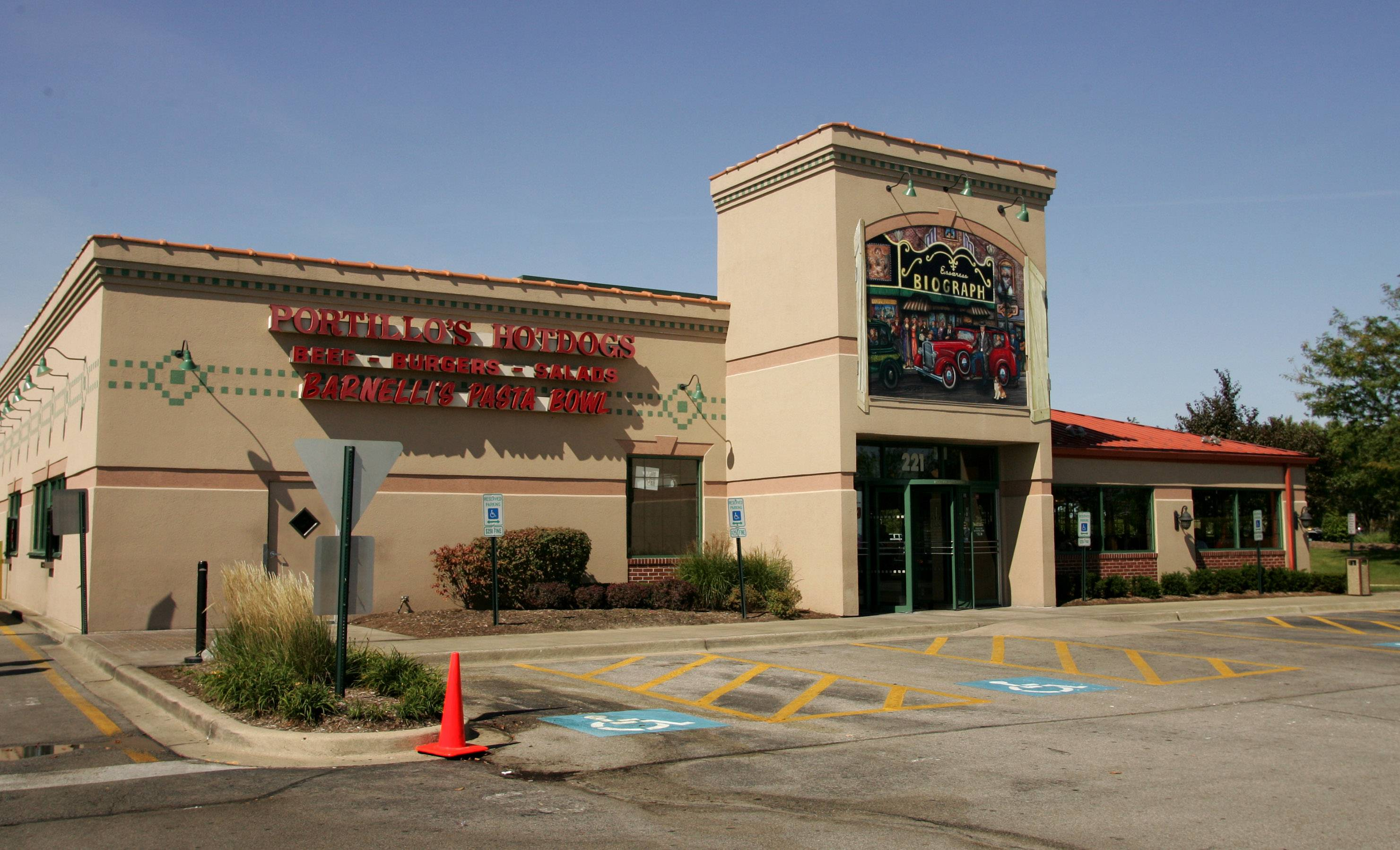Portillo's has experienced significant growth over the past 50 years and operates 38 locations across Illinois, Indiana, California and Arizona, including this one in Vernon Hills. Berkshire Partners is now buying the company.