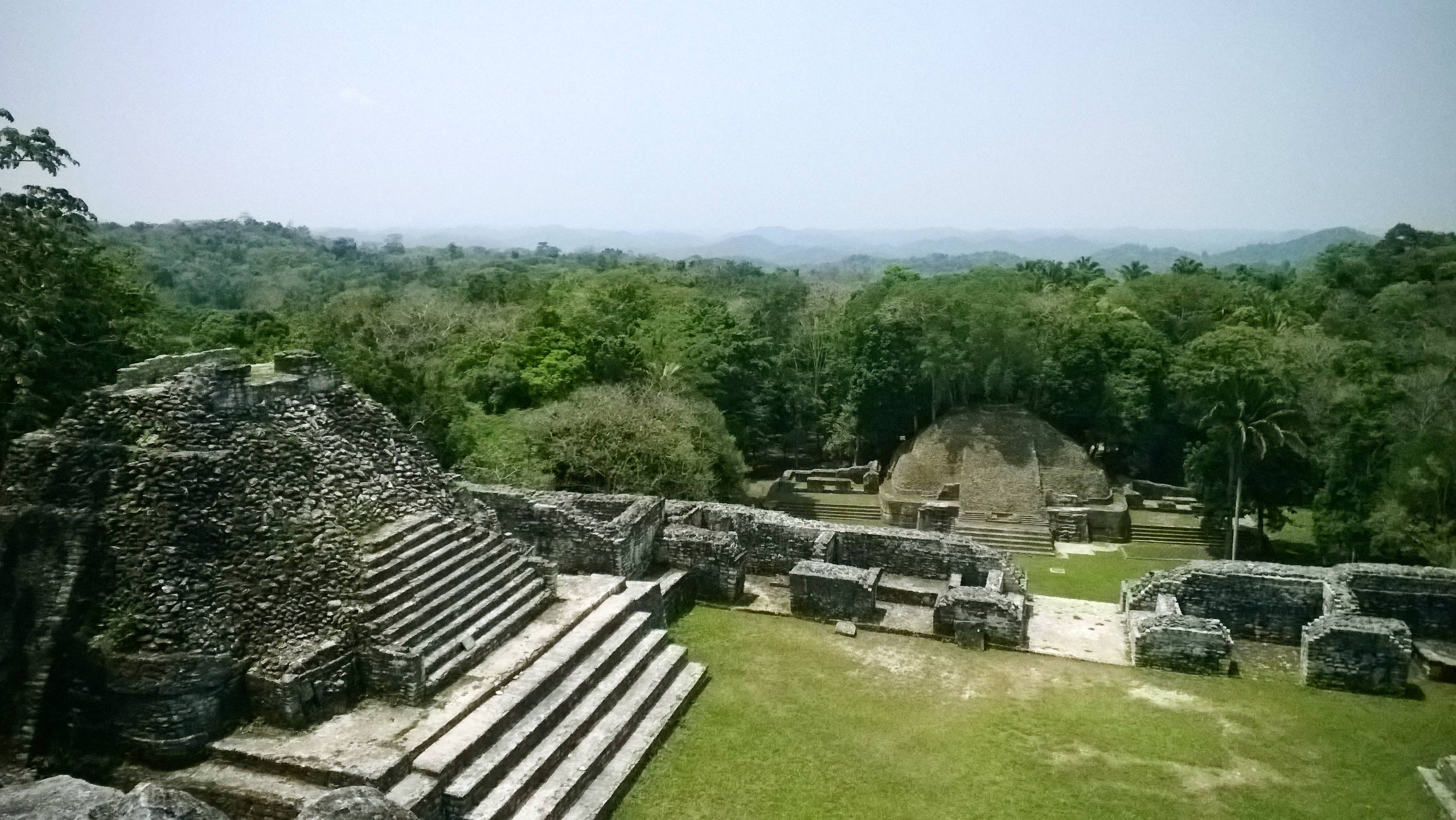 Once home to 150,000 inhabitants, what's left of the towering Maya city now known as Caracol is mostly hidden in Belize's jungle.