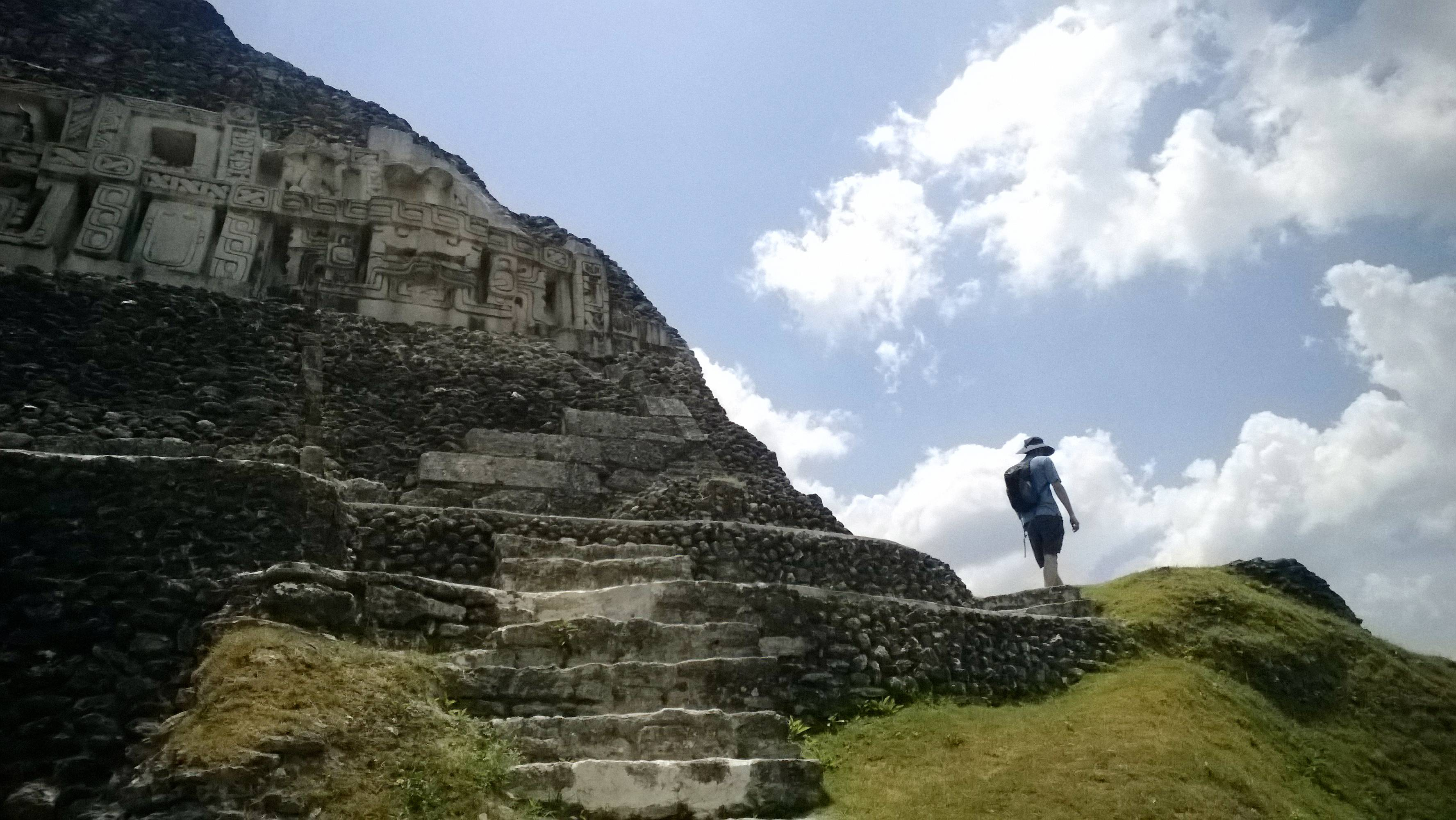 Despite its lofty appearance and elaborate decorations, the Castillo (at the archaeological site of Xunantunich) likely served as an administrative hub, not a temple, according to the visitor's center.