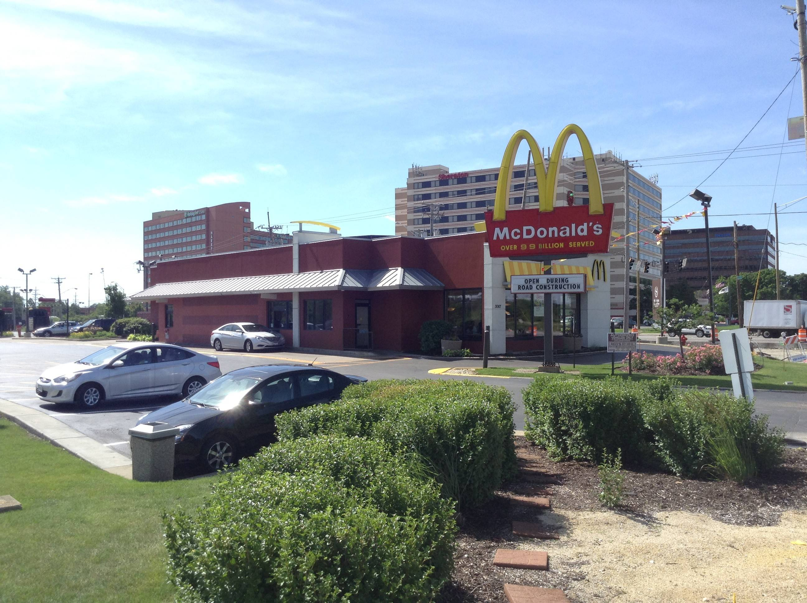 A McDonald's restaurant at the corner of Higgins and Mannheim roads in Des Plaines will be taken out of a tax increment financing district and returned to the tax rolls under a proposal by city officials.