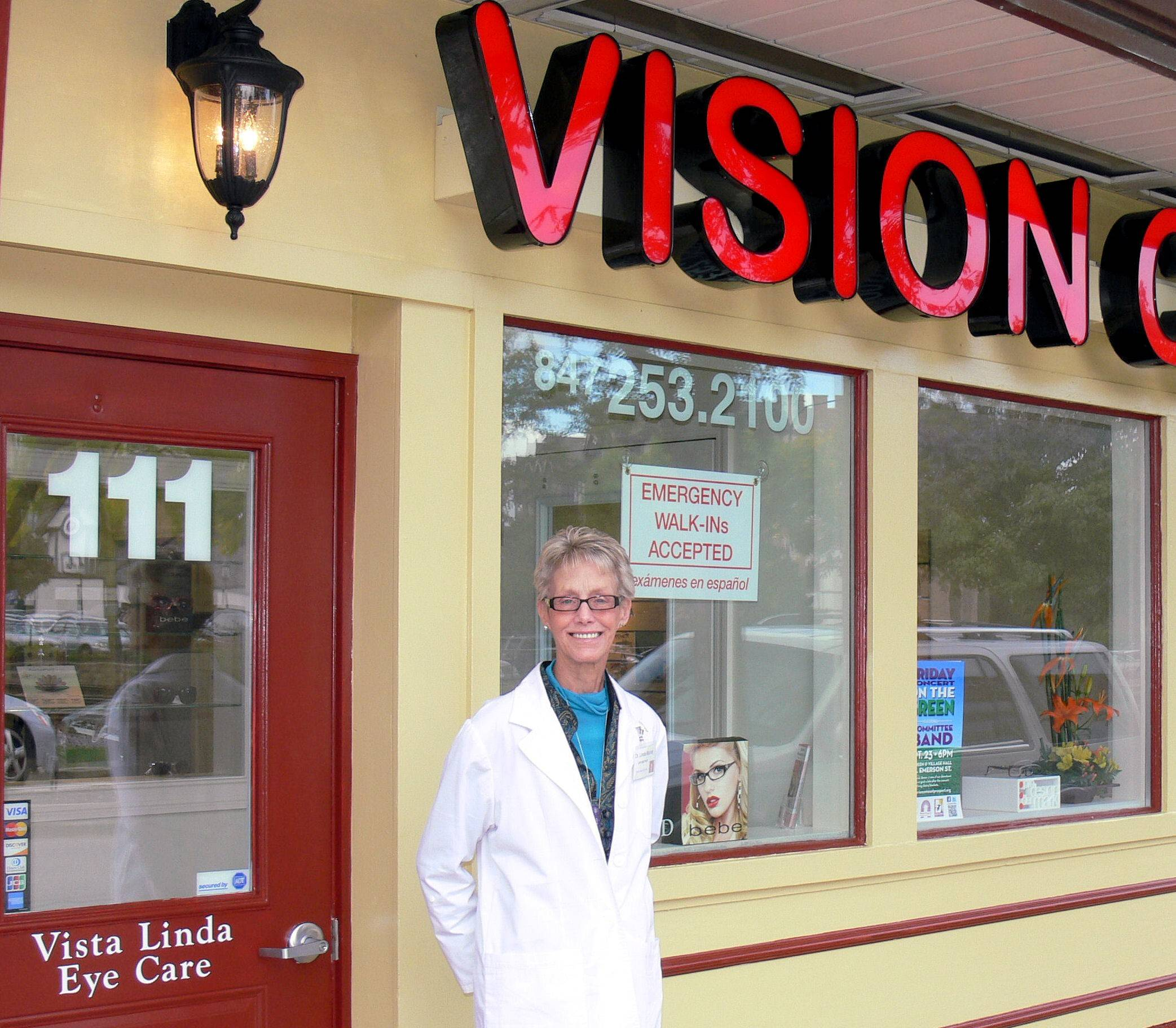 No World Cup fans have come into her Mount Prospect clinic seeking contact lenses featuring national flags, but optometrist Linda Murray says cheap, novelty lenses ordered online can lead to infections and other eye problems.