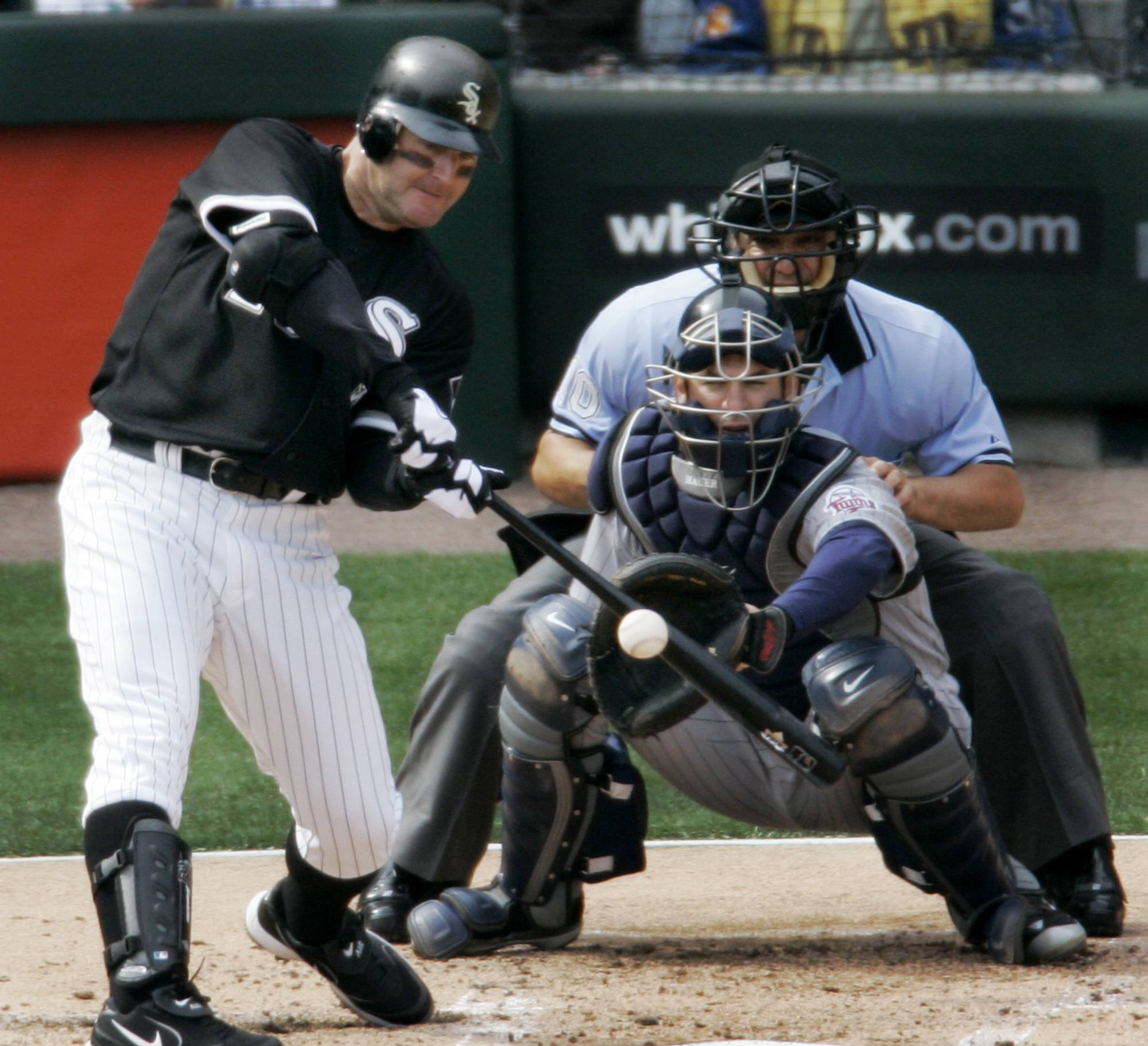 Former Chicago White Sox designated hitter Jim Thome will coach and visit with campers at two White Sox Silver Slugger baseball camps offered this summer in Lisle and Glen Ellyn.