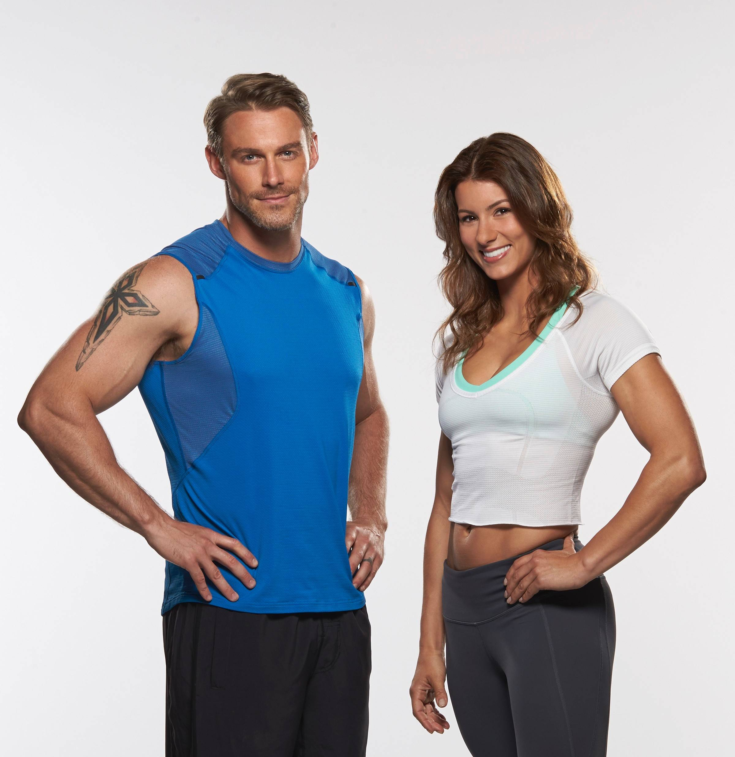 "Jennifer Widerstrom, right, of Lisle, will replace longtime trainer Jillian Michaels on the upcoming season of NBC's ""The Biggest Loser."" She'll join new trainer Jessie Pavelka, right, and Dolvett Quince, not pictured."