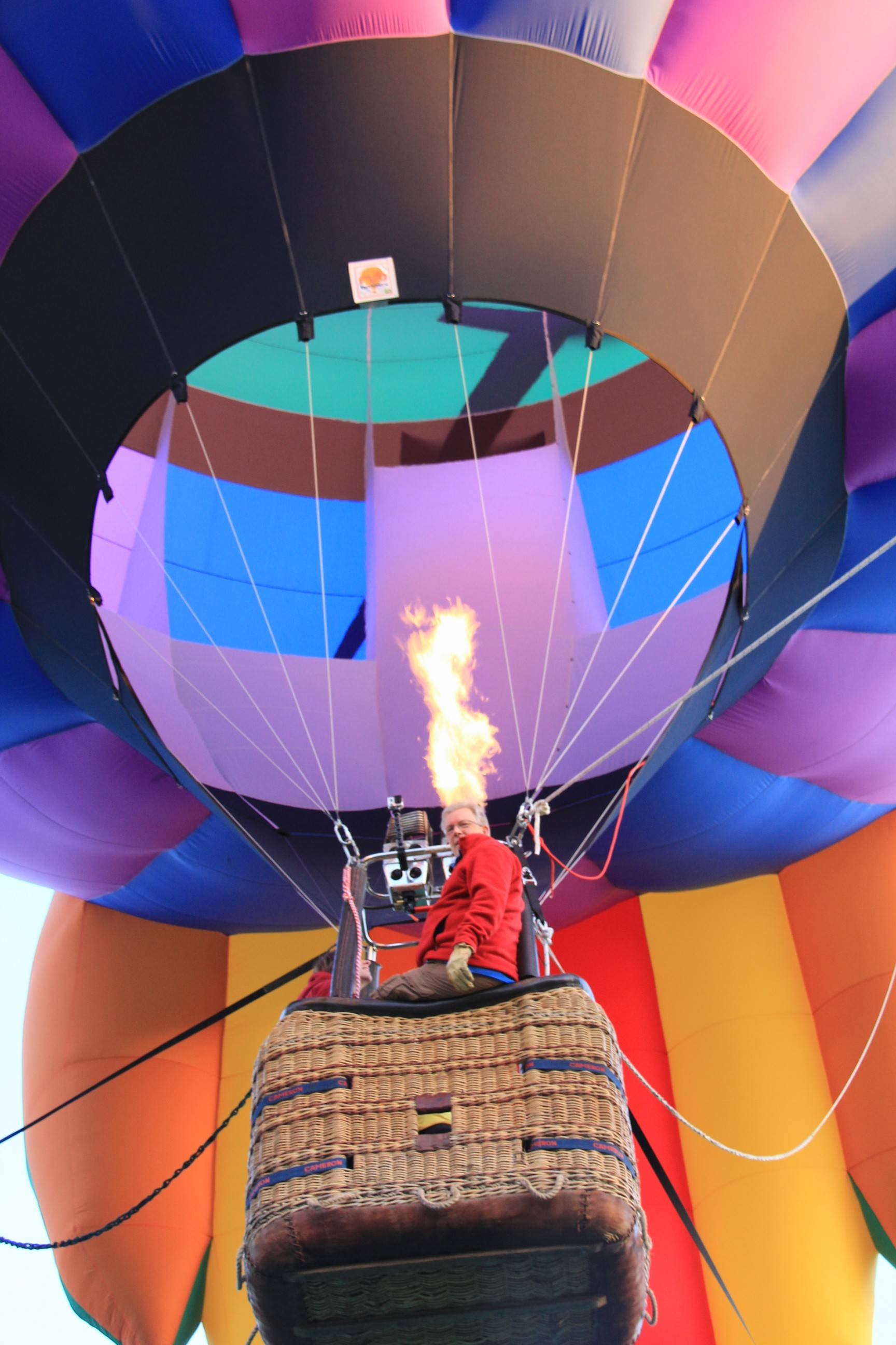 Dave Reinuke will be one of many balloonists demonstrating his craft at this year's Eyes to the Skies festival in Lisle.