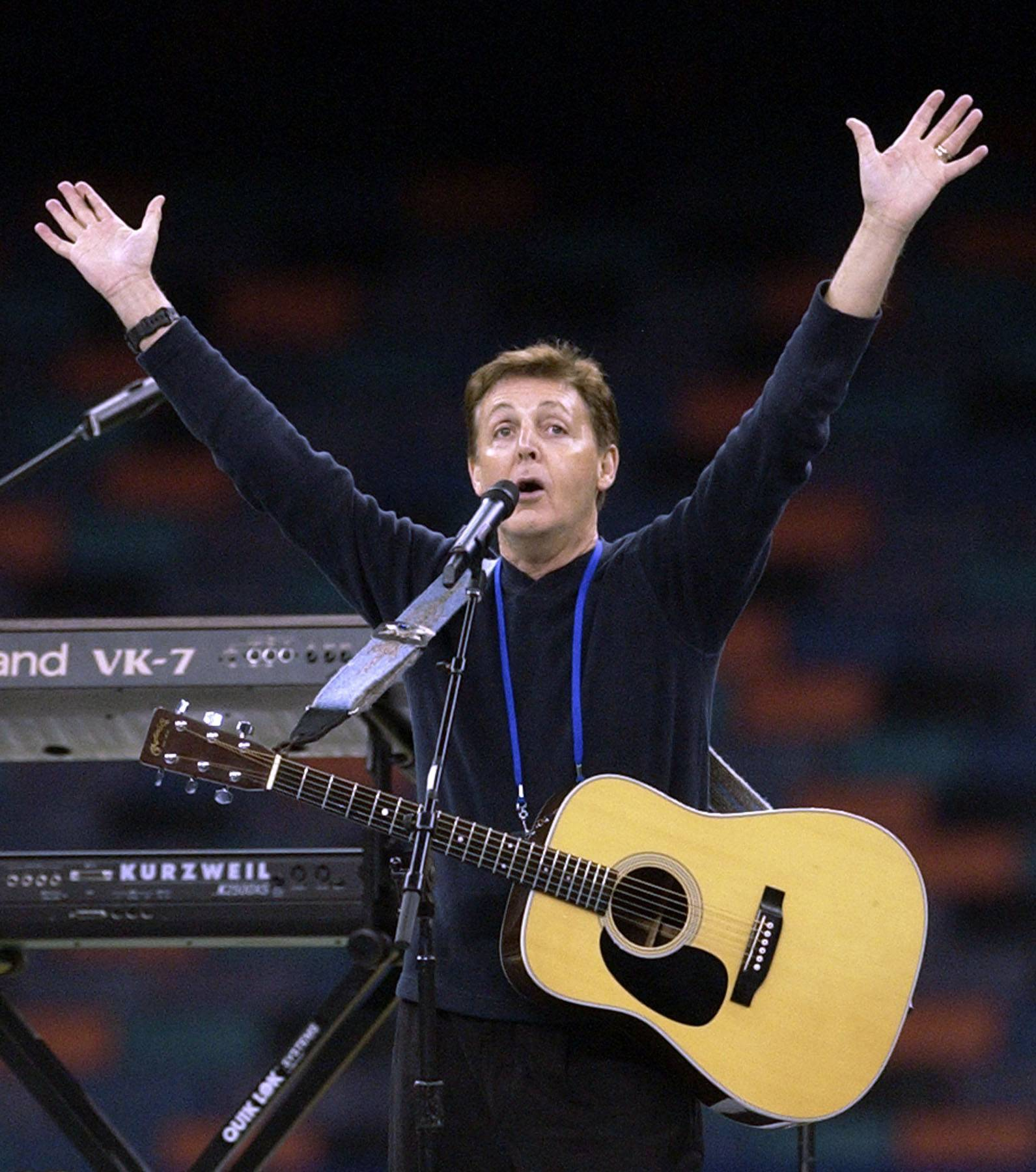 Former Beatle Paul McCartney returns to Chicago next week for a show at the United Center.