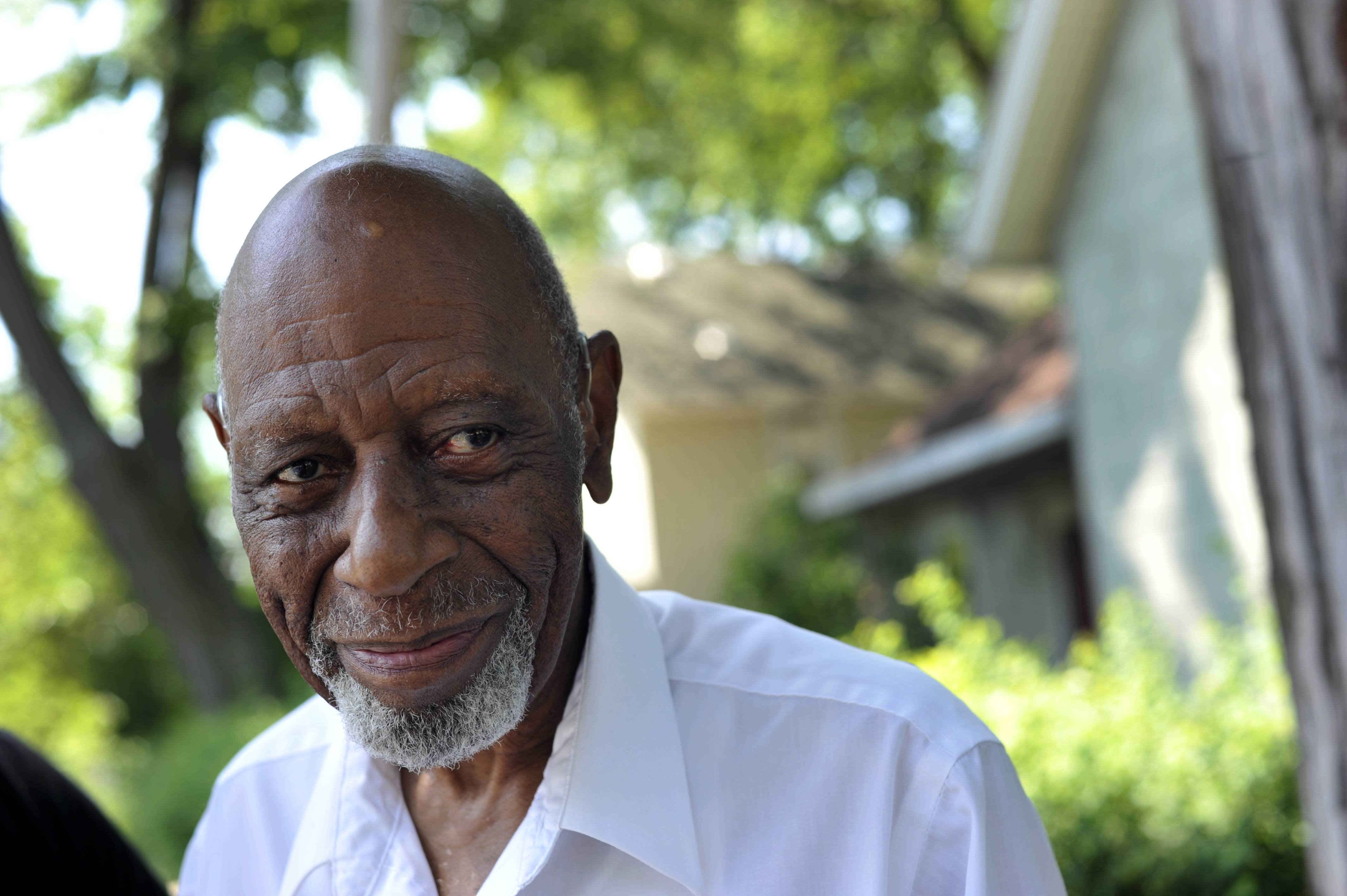 "Ernie Broadnax of Elgin is part of the new documentary film ""Project 2-3-1,"" by the Elgin Area Historical Society. He is a lifelong resident of the three-block neighborhood called ""the settlement,"" where most of Elgin's black residents lived throughout the 20th century."