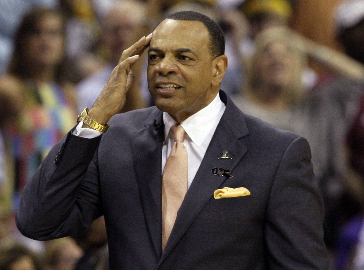 FILE - In this May 27, 2013 file photo, Memphis Grizzlies coach Lionel Hollins gestures during the first half in Game 4 of the Western Conference finals NBA basketball playoff series  against the San Antonio Spurs, in Memphis, Tenn. The Brooklyn Nets say they have reached an agreement in principle with Hollins to become their coach, moving quickly after the departure of Jason Kidd. The deal with the former Grizzlies coach comes just two days after they made a trade with Milwaukee to allow Kidd out of his contract so the Bucks could hire him. The Nets then met with Hollins on Monday night and again Tuesday before agreeing to the deal on Wednesday, July 2, 2014.