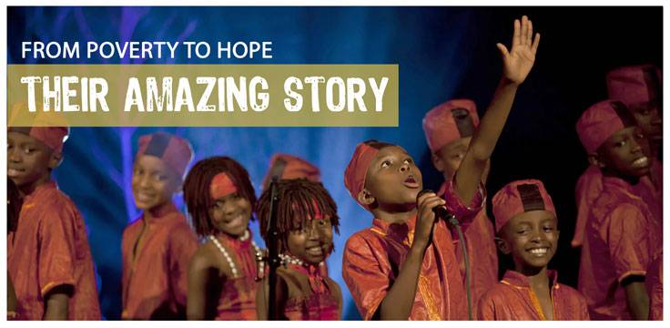 Comprised of orphans and the poorest of children, Asante Ministries International finds hope in music and Jesus Christ.