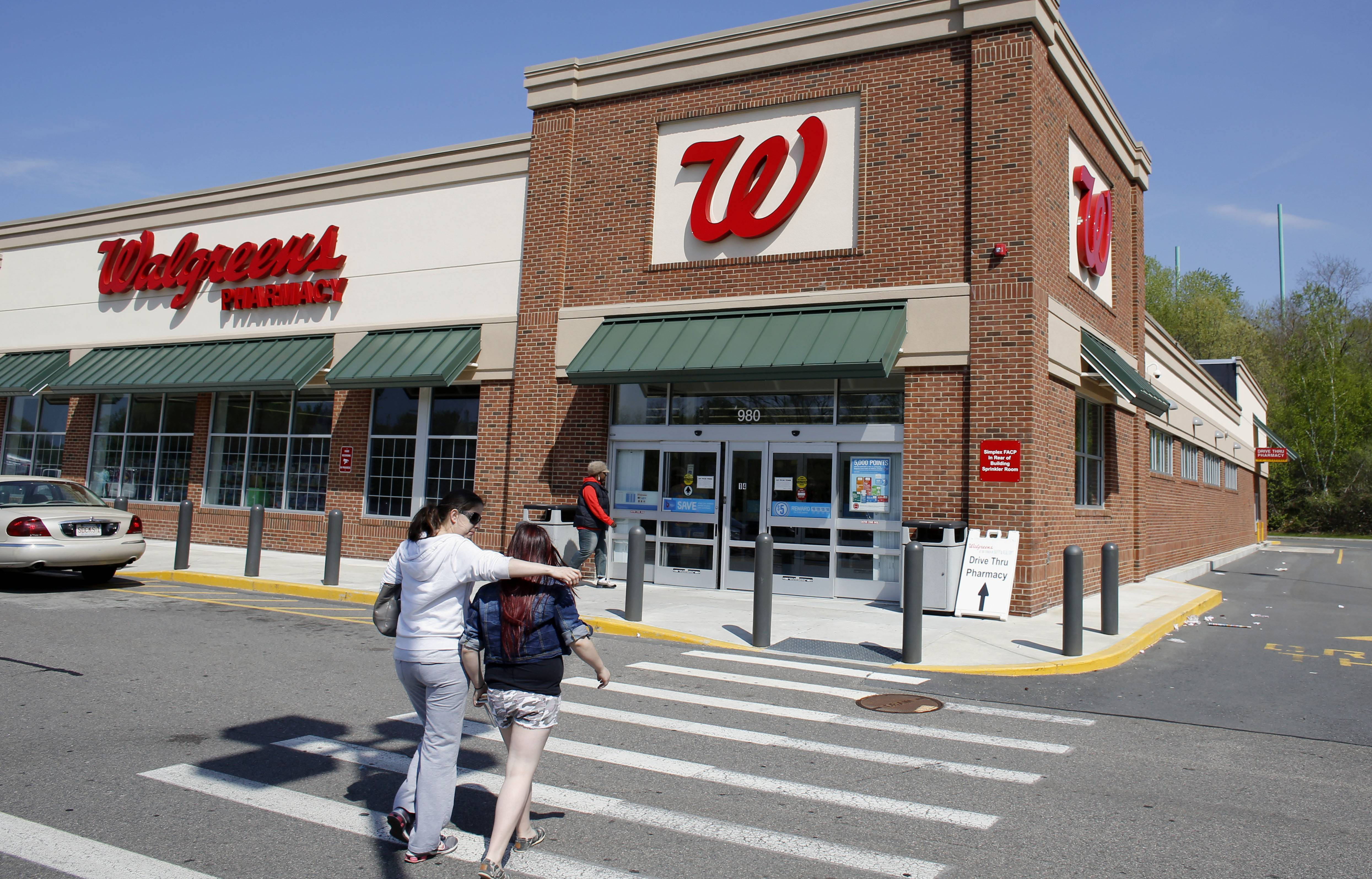 Deerfield-based Walgreen Co. said Thursday that pharmacy revenue from its established stores climbed more than 11 percent in June.