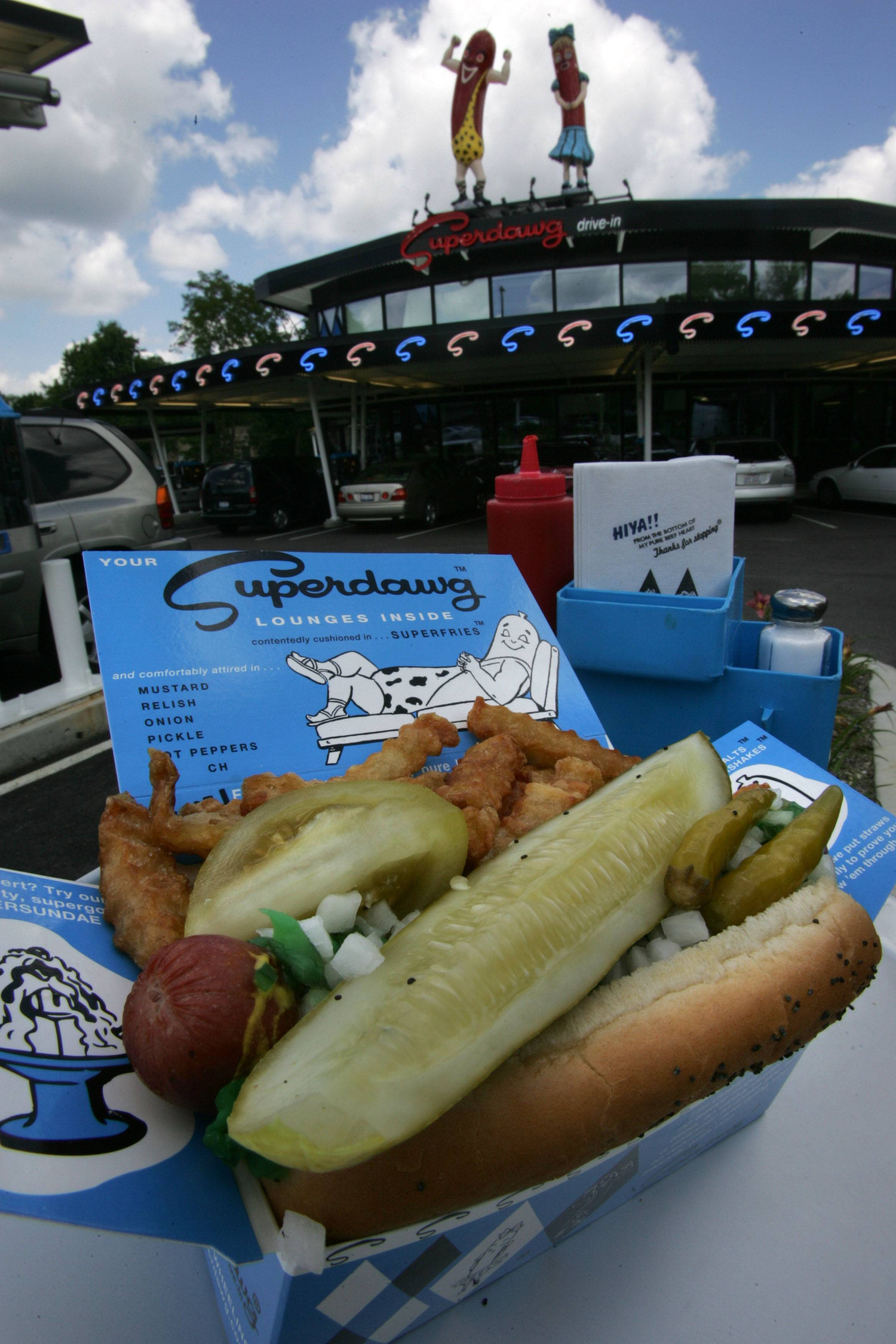 Since Superdawg opened in Wheeling, it has become a favorite spot for a dog and fries.