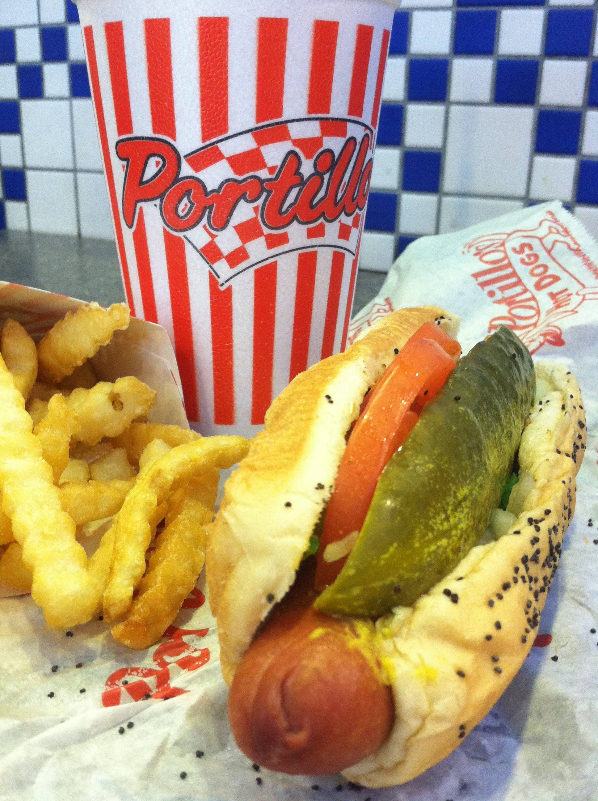 Portillo's hot dogs are among suburbanites' favorite dogs.
