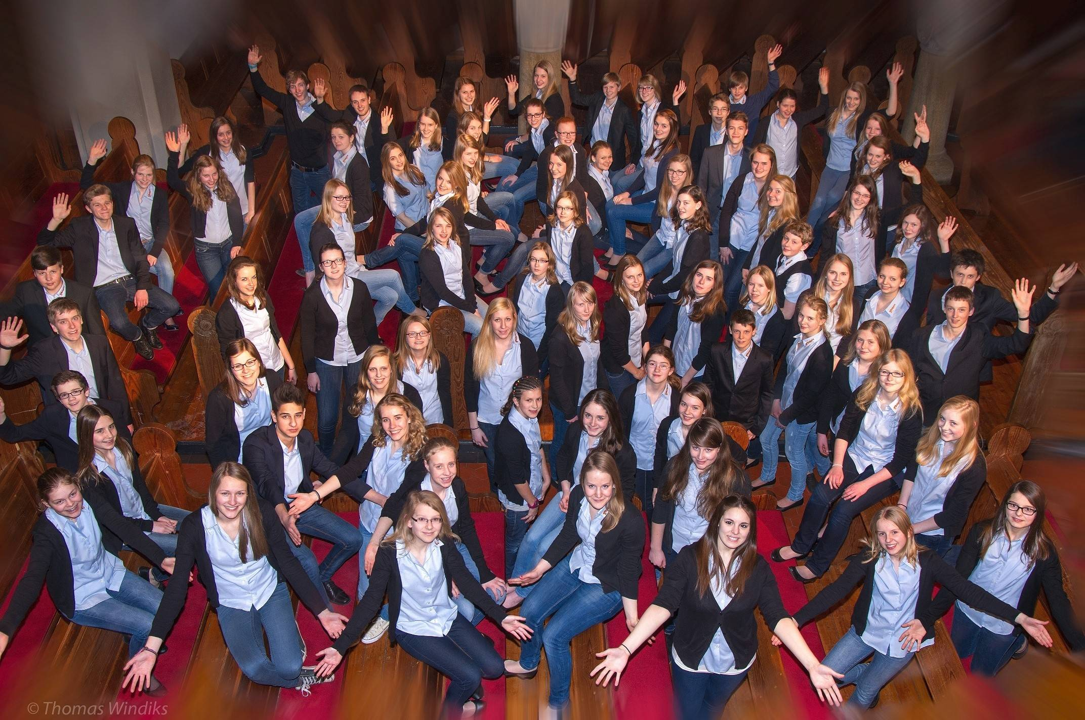 Tookula, a 60-voice student choir from Germany, will visit St. Charles this week and perform two free concerts.