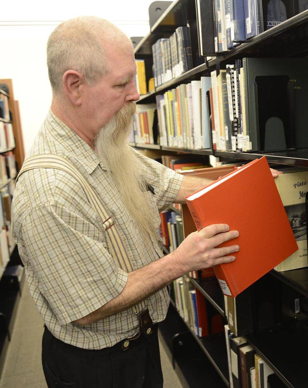 "Ken Gough is a historian who has written a reference book about the Civil War soldiers who lived in Elgin. ""Elgin, Illinois Soldiers of the Civil War"" has personal information about the men who fought. It is on the second floor in the genealogy section at the Gail Borden Public Library."