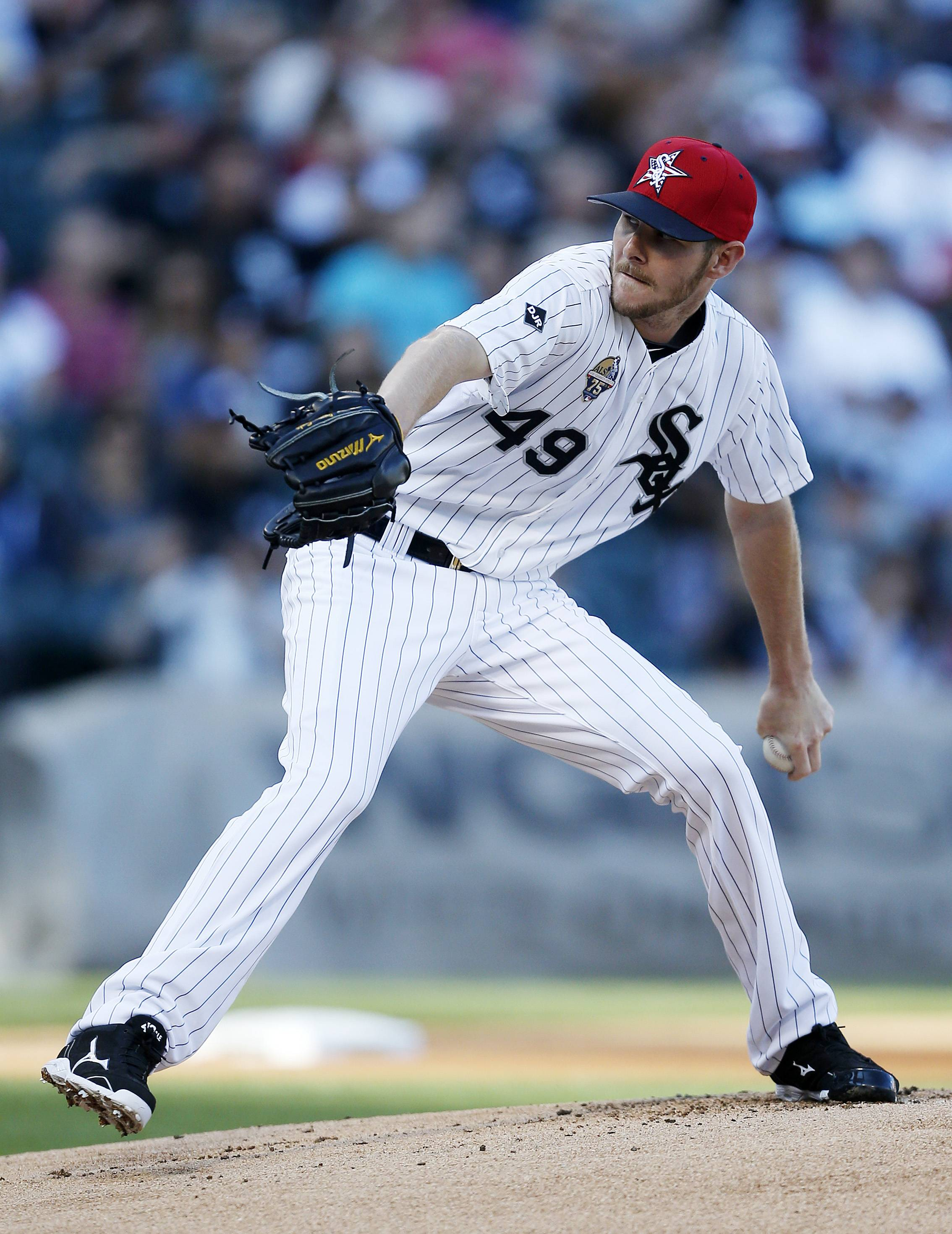 Sale again makes all-star pitch for White Sox