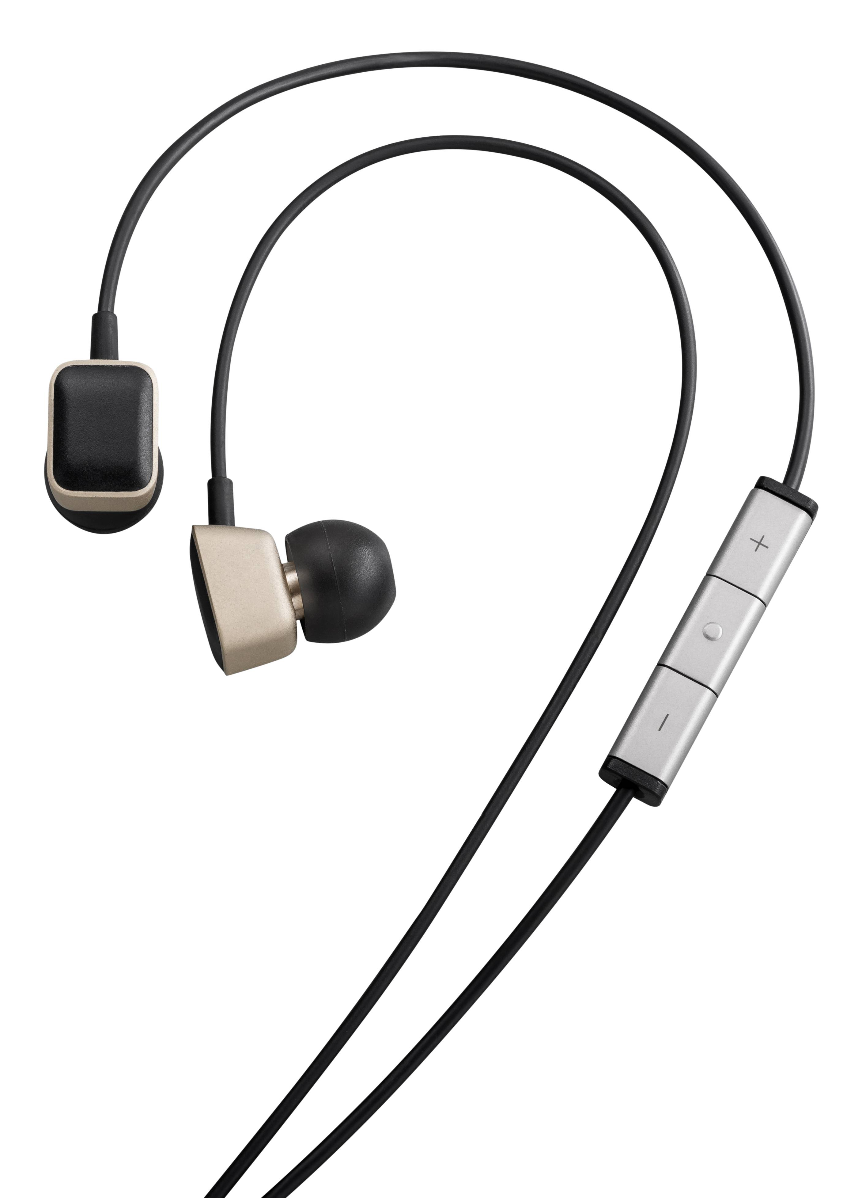 This product image provided by Harmon Kardon shows a set of AE-S Premium headphones that comes with the HTC One M8 smartphone. The phone features Clari-Fi, a new technology from Harman Kardon, which aims to restore some of the audio signal that is lost because of digital compression in today's download and streaming formats.