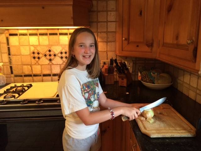Tess Boghossian, 12, of Palatine won a contest to represent Illinois in a state dinner later this month hosted by Michelle Obama.