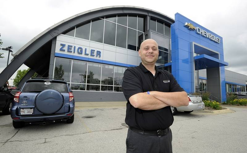 Zeigler Chevrolet Manager Says Mentor 39 S Words Sparked Career