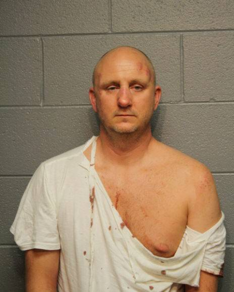 Gerald Chverchko, 42, of the 10900 block of Mayfield Lane in Huntley, was charged with punching a Chicago police officer after a Dave Matthews concert Friday night at Northerly Island.