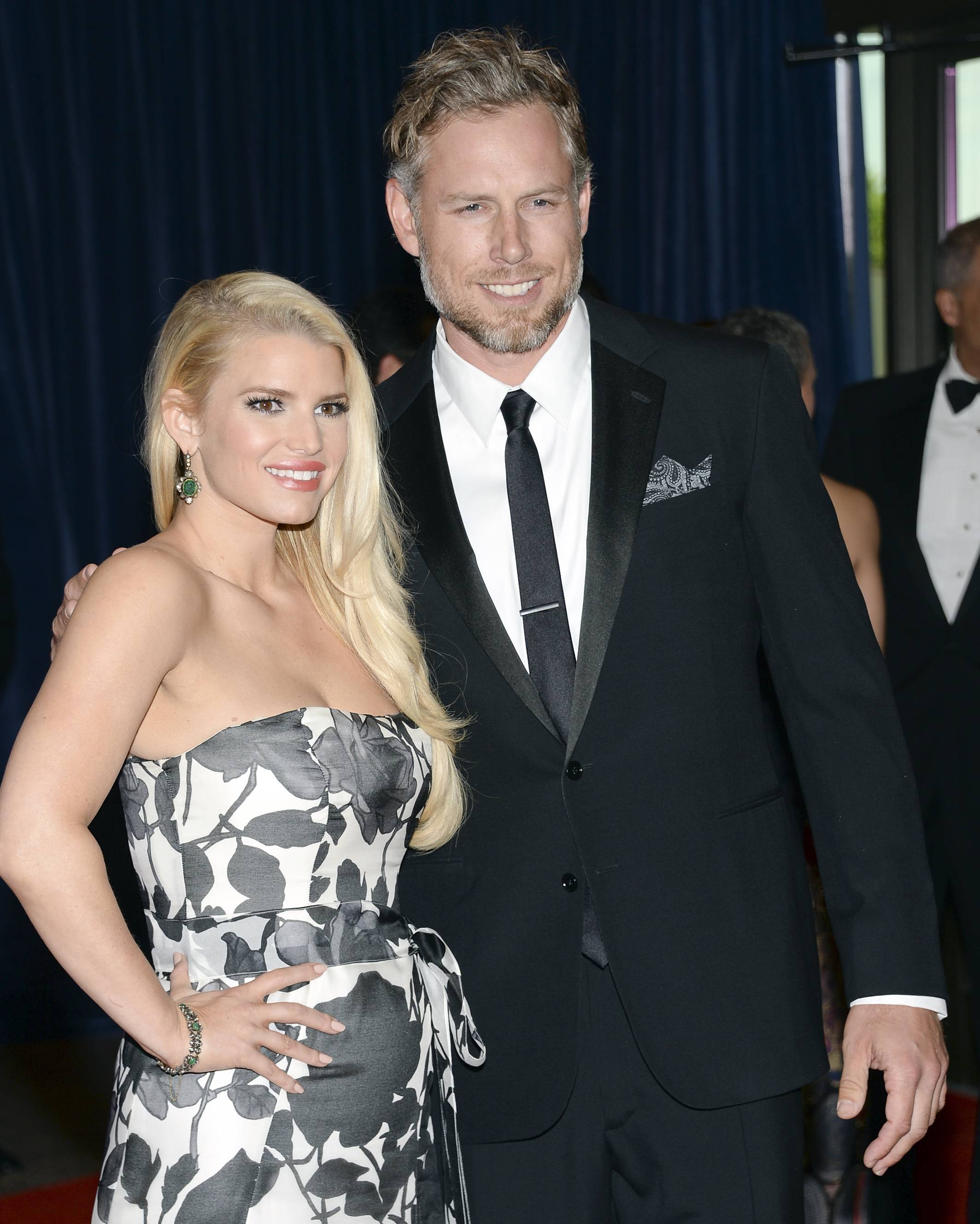 Jessica Simpson and Eric Johnson married Saturday at San Ysidro Ranch in Montecito, Calif., her publicist Lauren Auslander confirms.