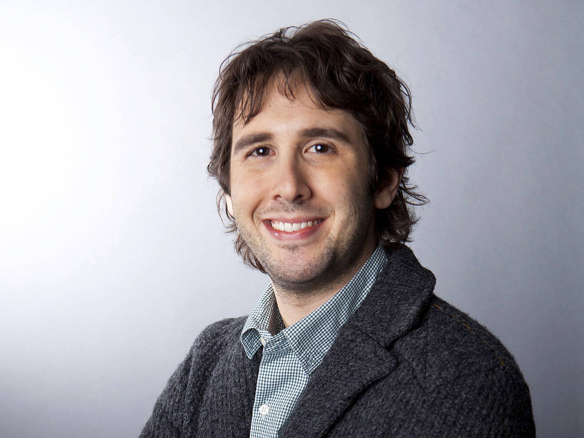 Singer Josh Groban is showing people there's a personality behind his vocal stylings.