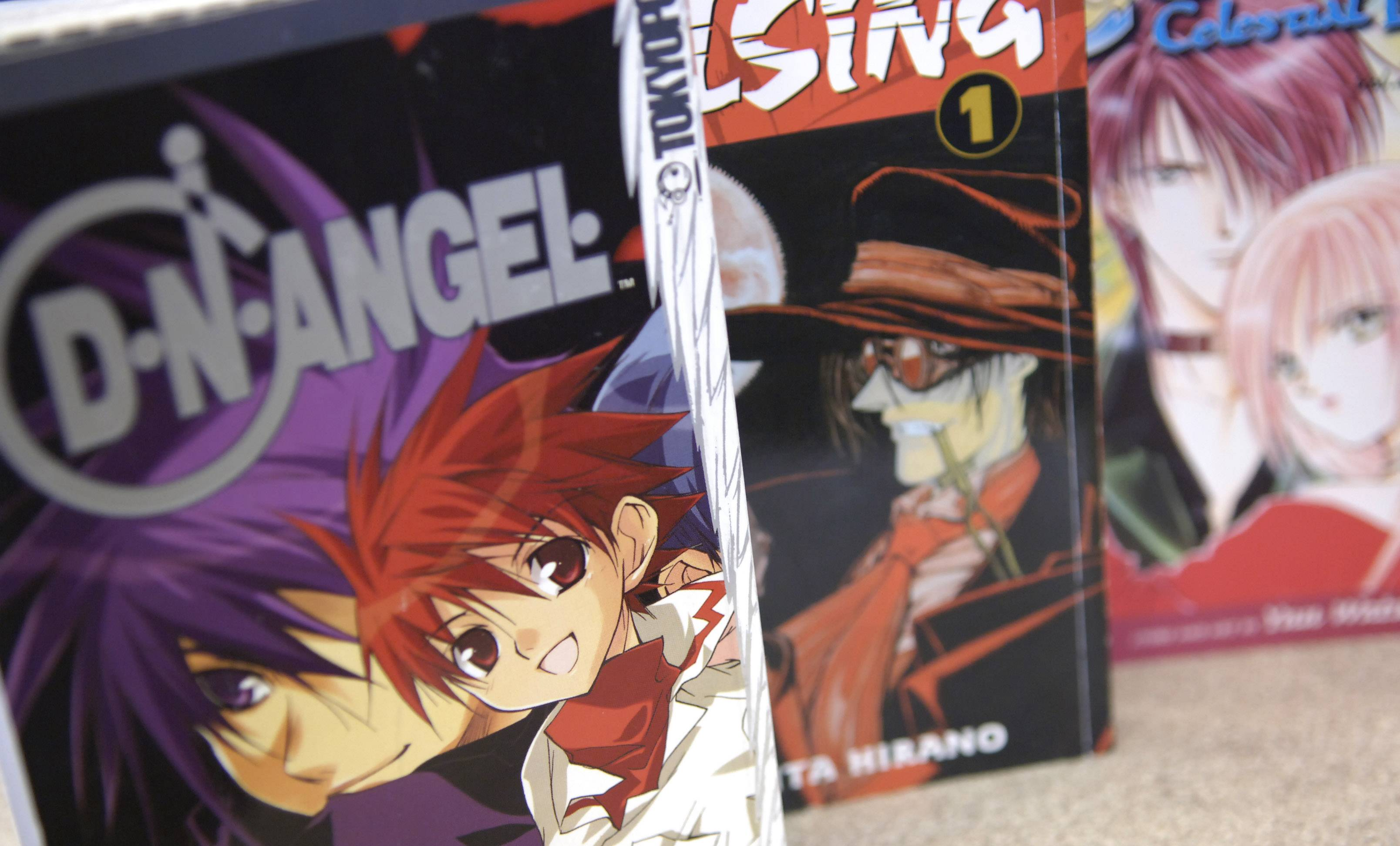Shop for manga books and more at the Fourth Annual Anime Midwest Convention at the Hyatt Regency O'Hare in Rosemont.