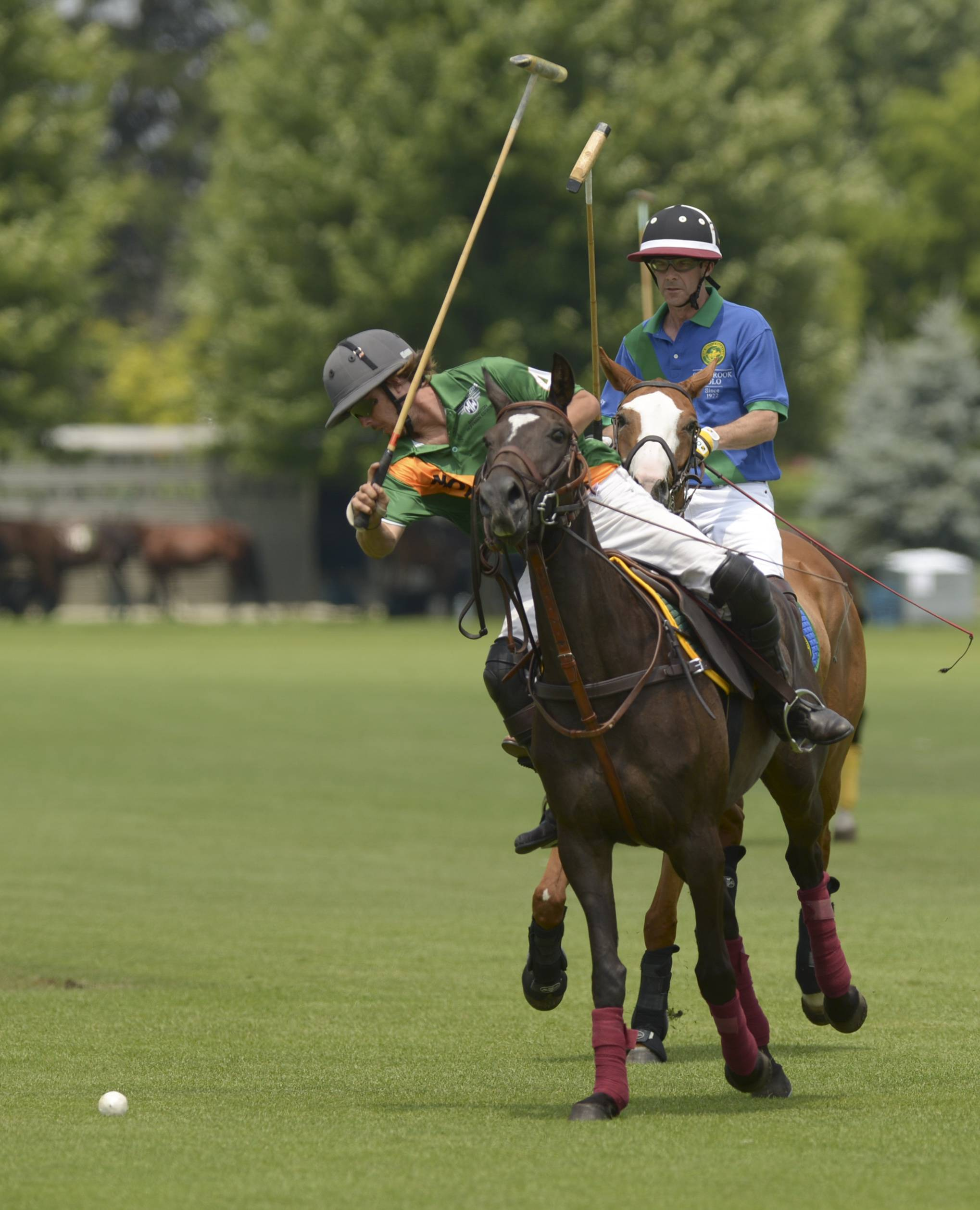 The Oak Brook Polo Club play Motor Werks on Sunday to kick off the 2014 polo season in Oak Brook. Sunday was also Hat Day at the polo club, one of several theme days planned for the season.