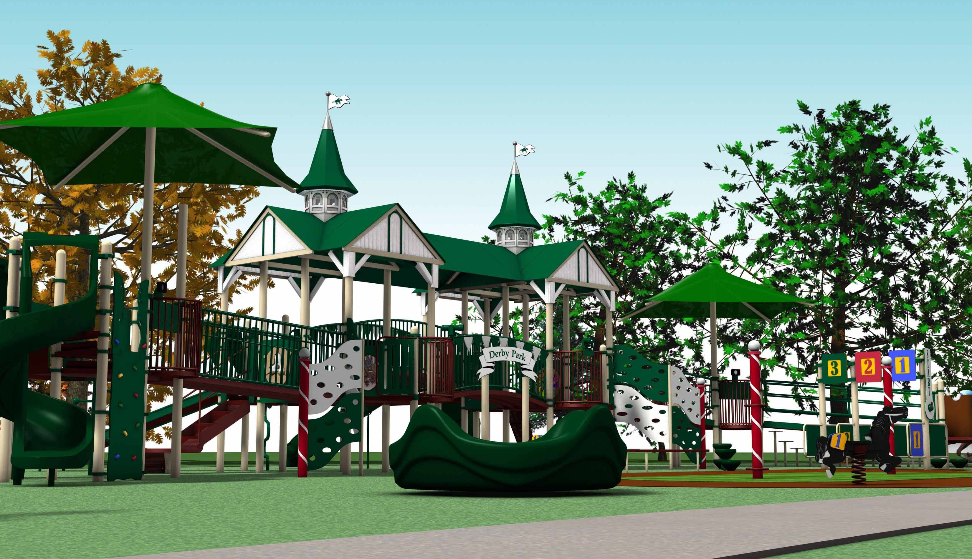 Construction is underway on the first phase of the Play for All playgrounds and gardens in Wheaton. Organizers are hoping the project, which is intended to provide recreation for everyone, regardless of disabilities, will open in the fall.