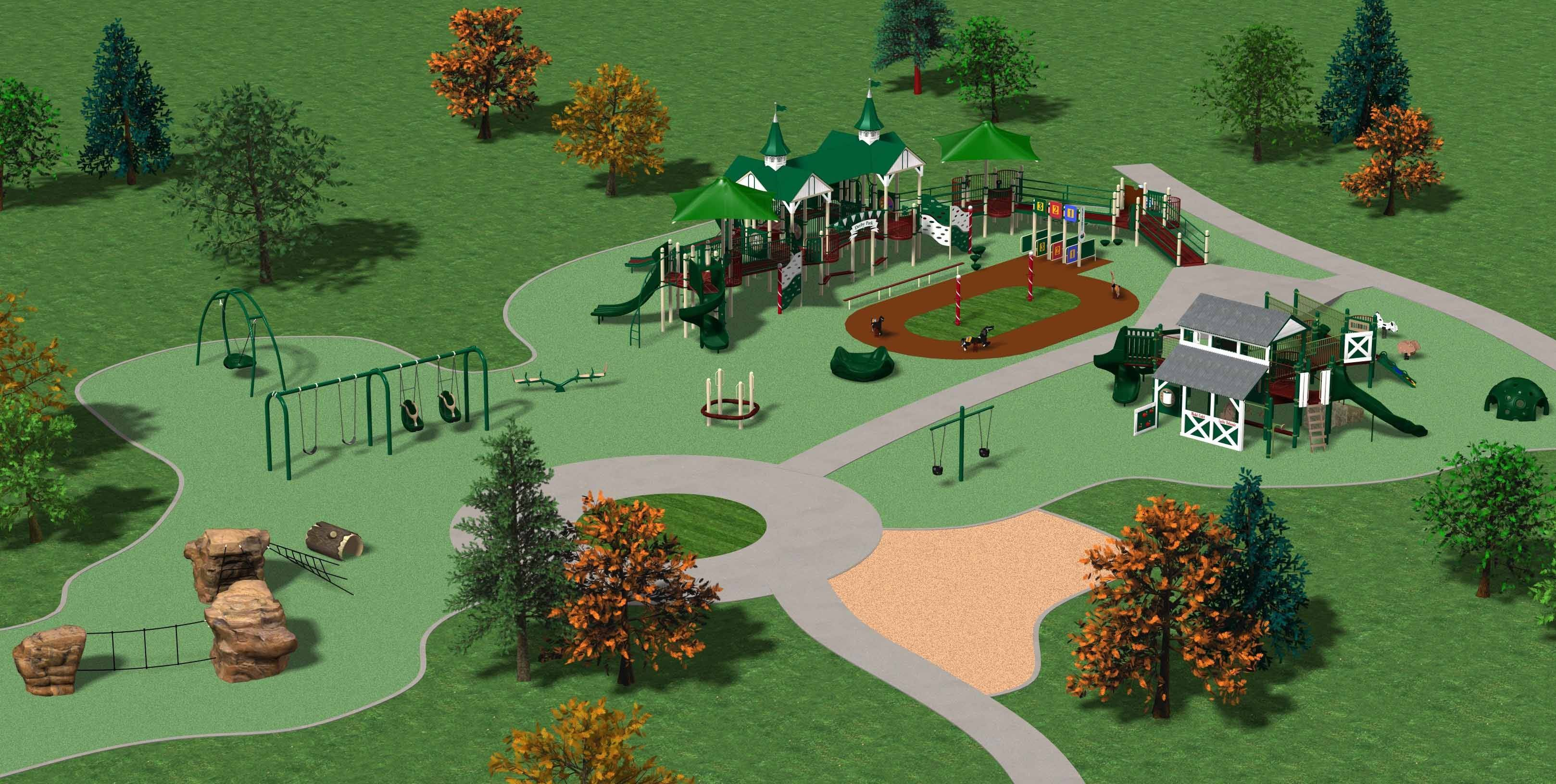 Construction has begun on the first phase of the Play for All playgrounds and gardens in Wheaton. Organizers are hoping the project, which is intended to provide recreation for everyone, regardless of disabilities, will open in the fall.