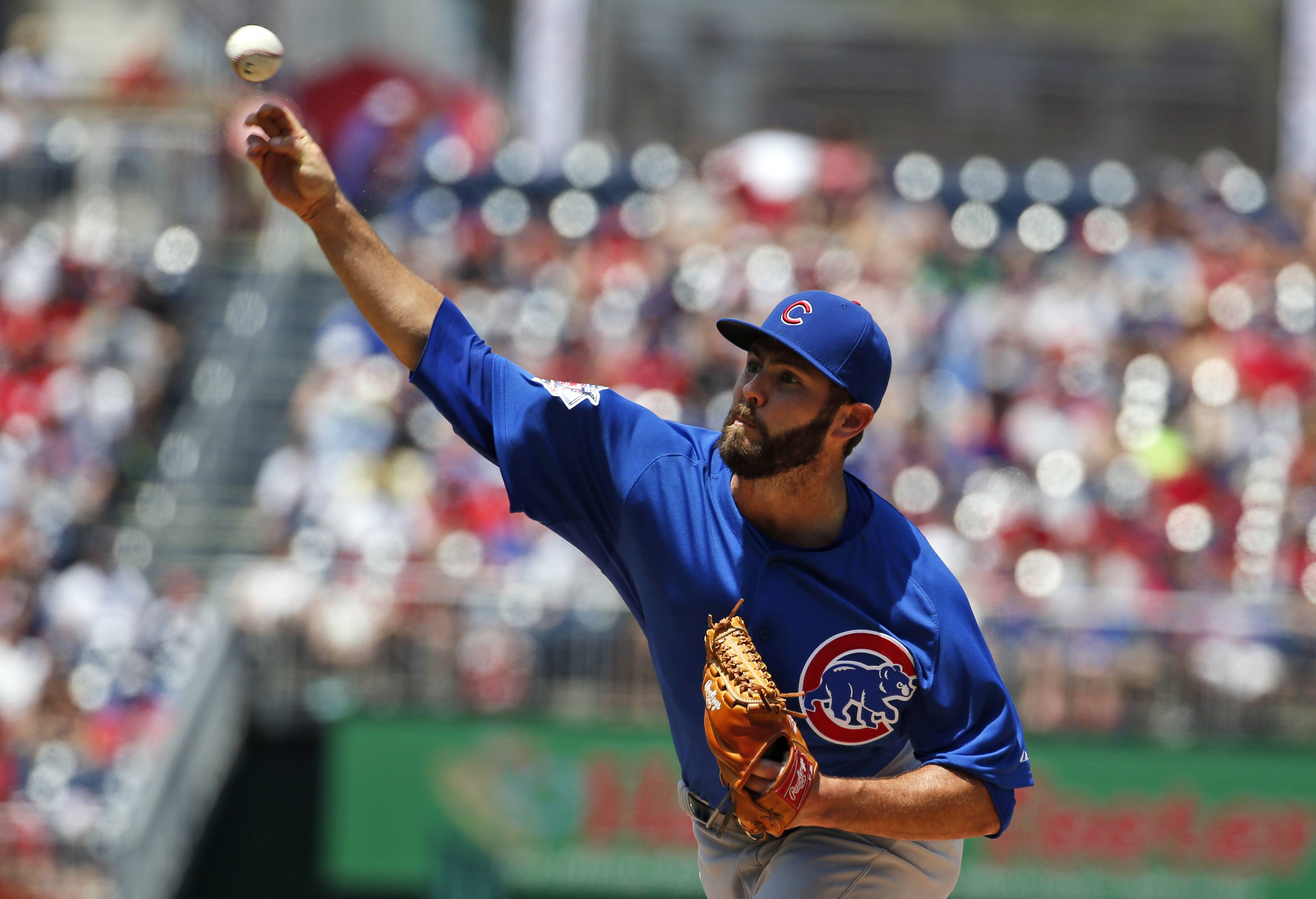 Cubs starting pitcher Jake Arrieta has been flirting with no-hitters and appears to be throwing with a lot of confidence. Like Vince Scully, broadcaster Len Kasper believes he's not doing his job if he doesn't alert baseball fans of a no-hitter in progress.