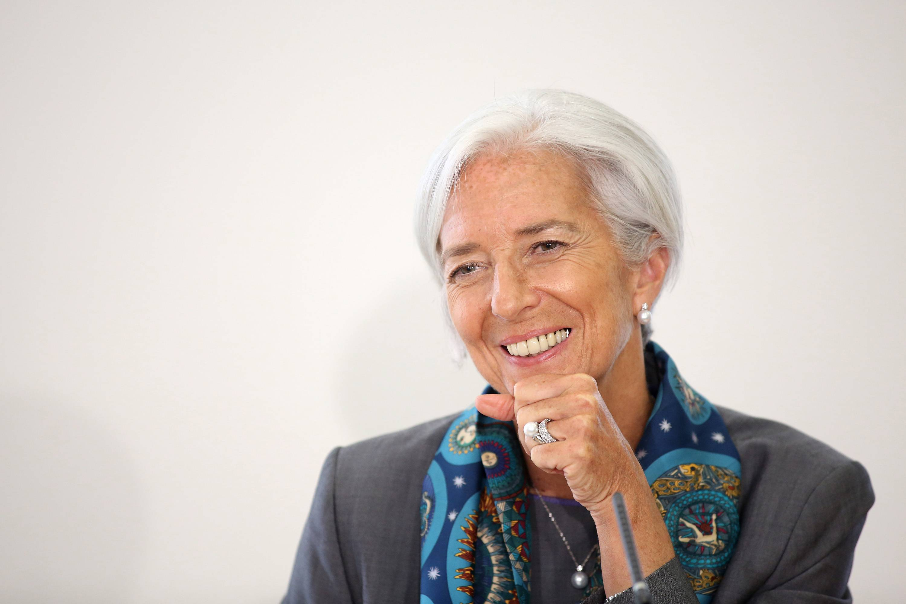 Christine Lagarde, managing director of the International Monetary Fund (IMF)