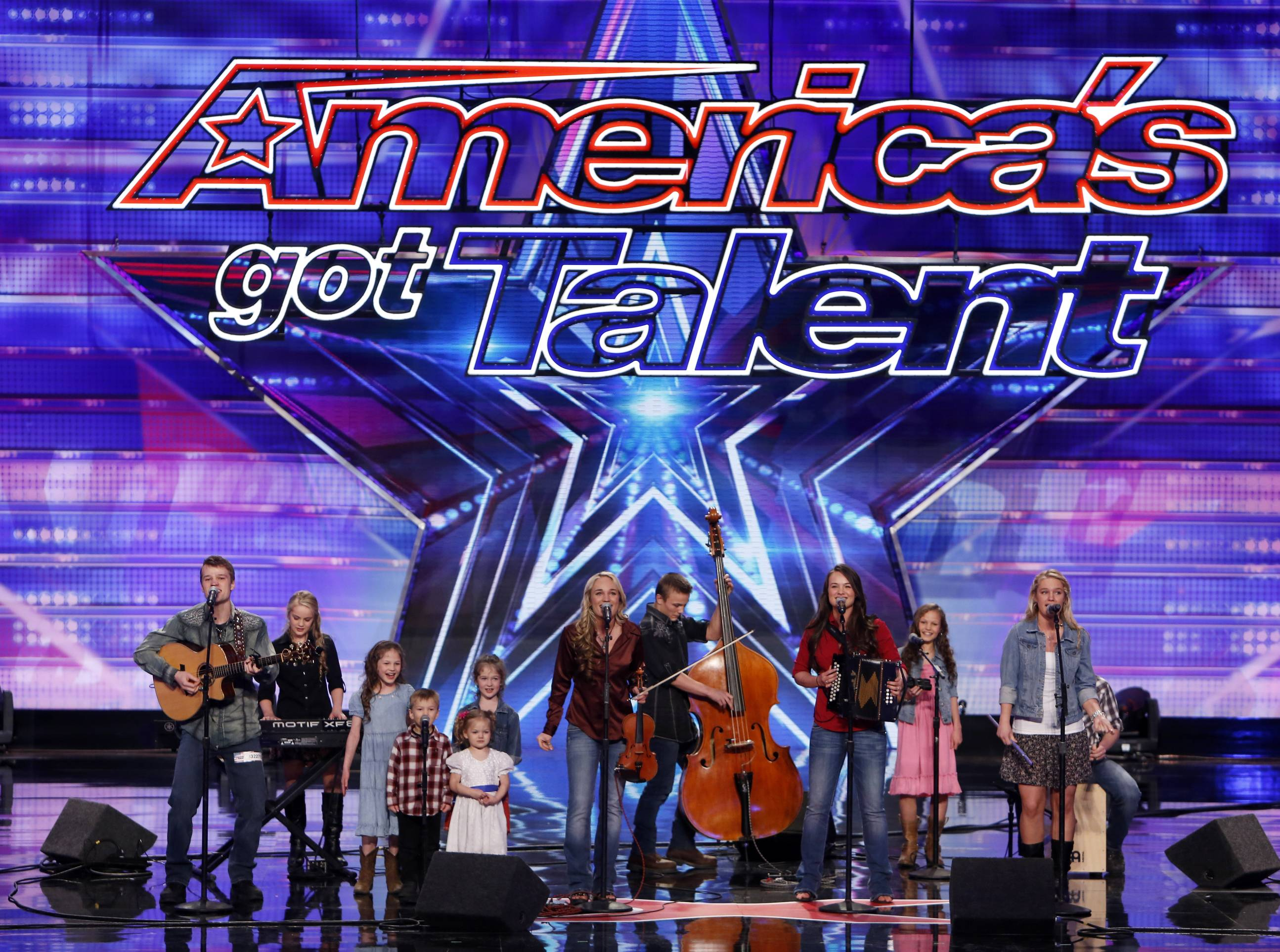"The Willis Clan competes on ""America's Got Talent"" in Newark, N.J."