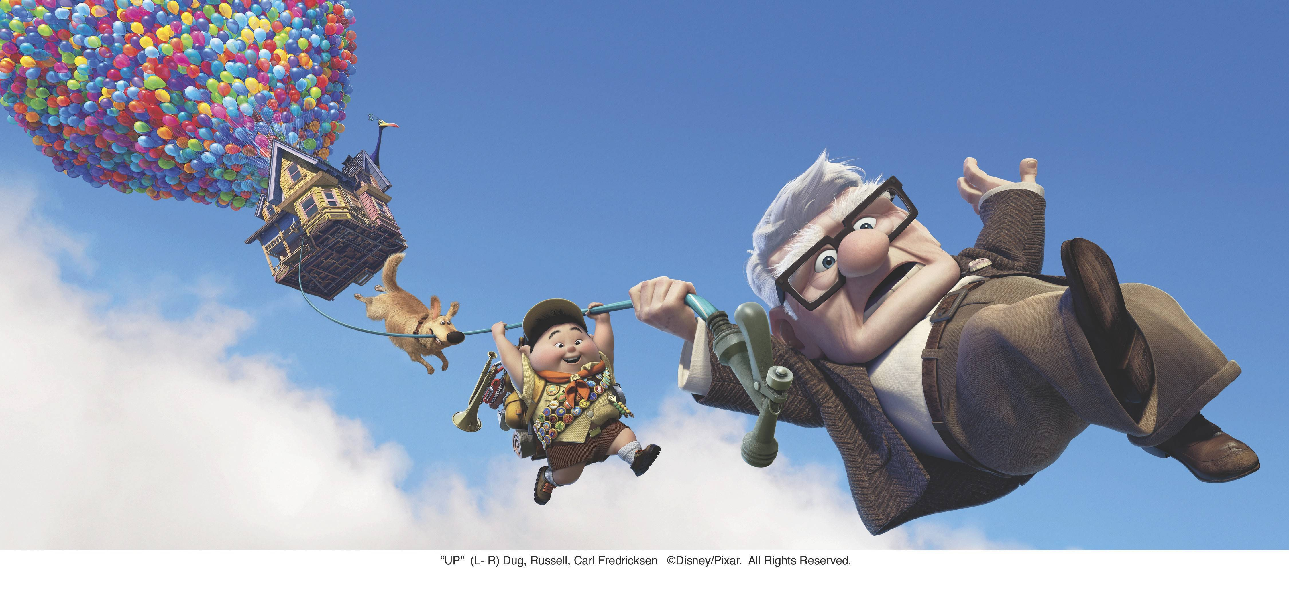 "See a free screening of the 2009 Pixar Animation Studios film ""Up"" at the Lakeside Pavillion at the College of DuPage in Glen Ellyn."