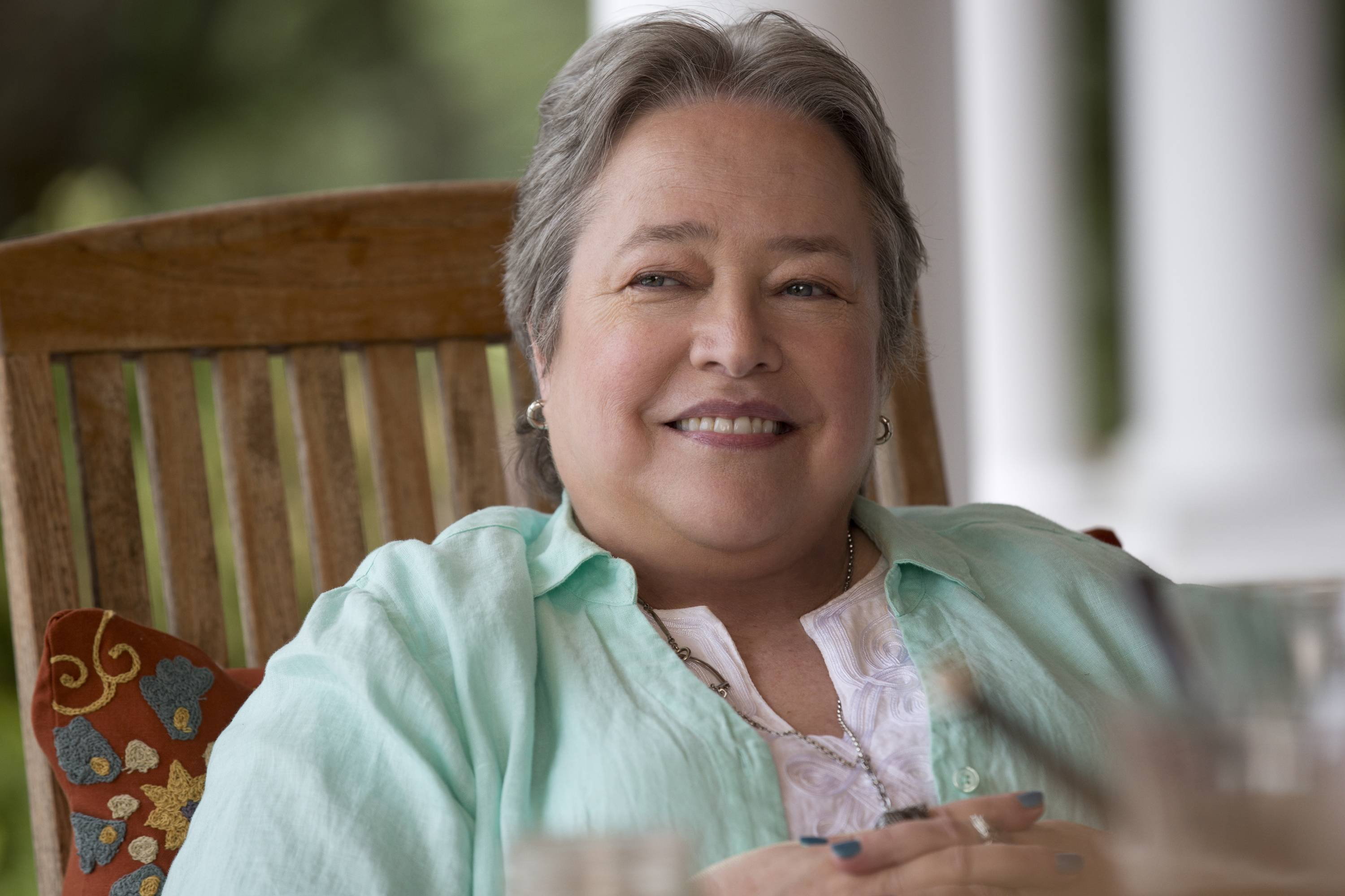 "Kathy Bates, as Lenore in a scene from the comedy ""Tammy."" The 66-year-old Oscar winner plays the role of a successful entrepreneur who figuratively slaps sense into the film's lovable loser of a titular character (Melissa McCarthy)."