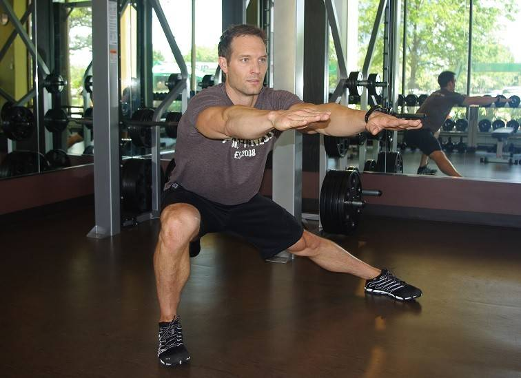 Ditch hip machines and try a lateral lunge instead.