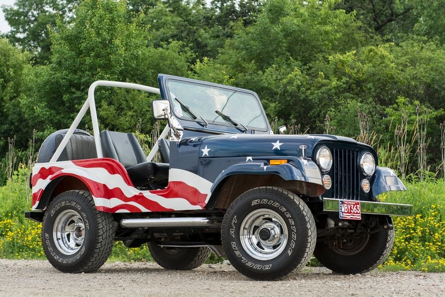 Patriotic Jeeps are treasures that arose from tragedy