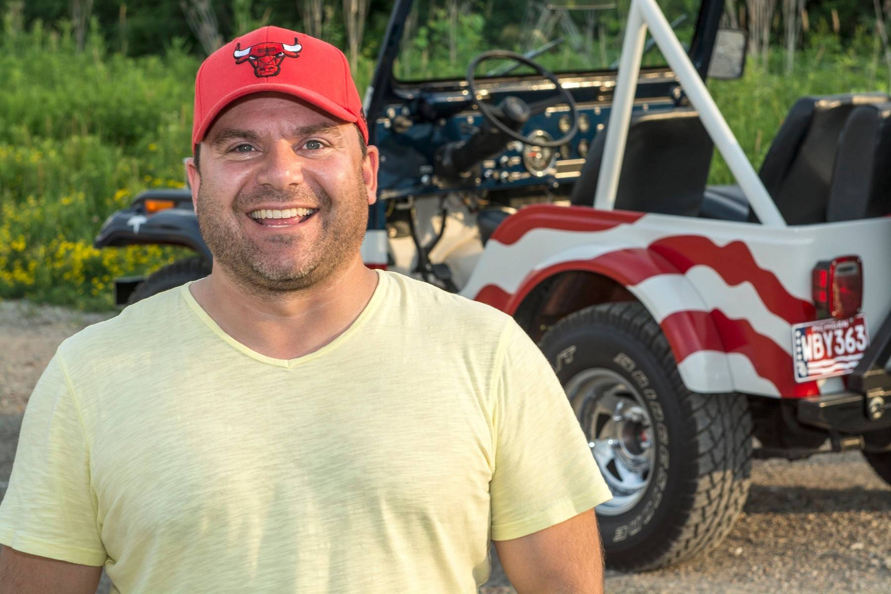 Nick Priola of Lake Bluff says he was extremely fortunate to be able to reunite two Jeeps tied to a significant national event.