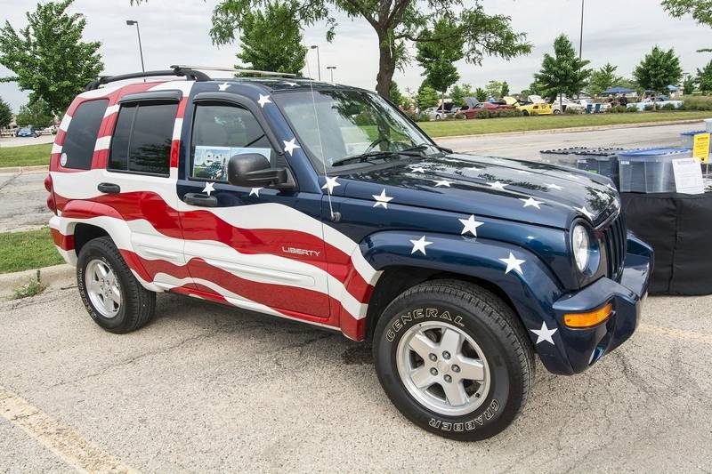 patriotic jeeps are treasures that arose from tragedy. Black Bedroom Furniture Sets. Home Design Ideas