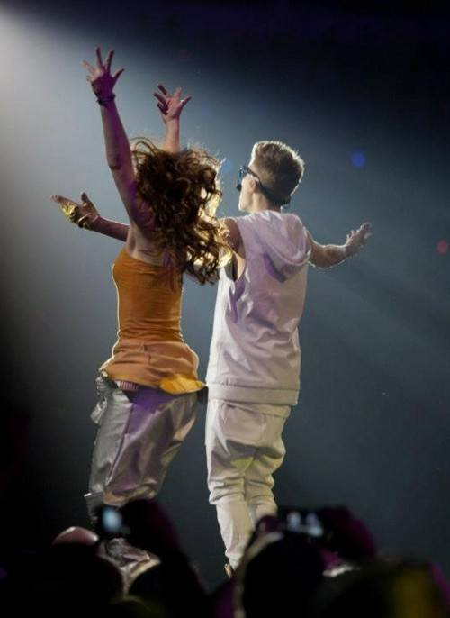 Dancer and choreographer Aubree Storm, of Elburn, danced on Justin Bieber's world tour last year.