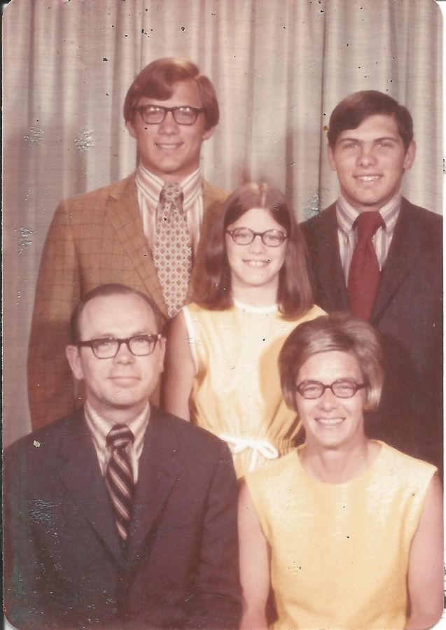 Robert McDonald, who has been tapped by President Obama to head up the Department of Veterans Affairs, grew up in the 1960s in Arlington Heights. Pictured in this undated photo are his parents, Ray and Fro McDonald, his brother, John, and his sister, Sue.