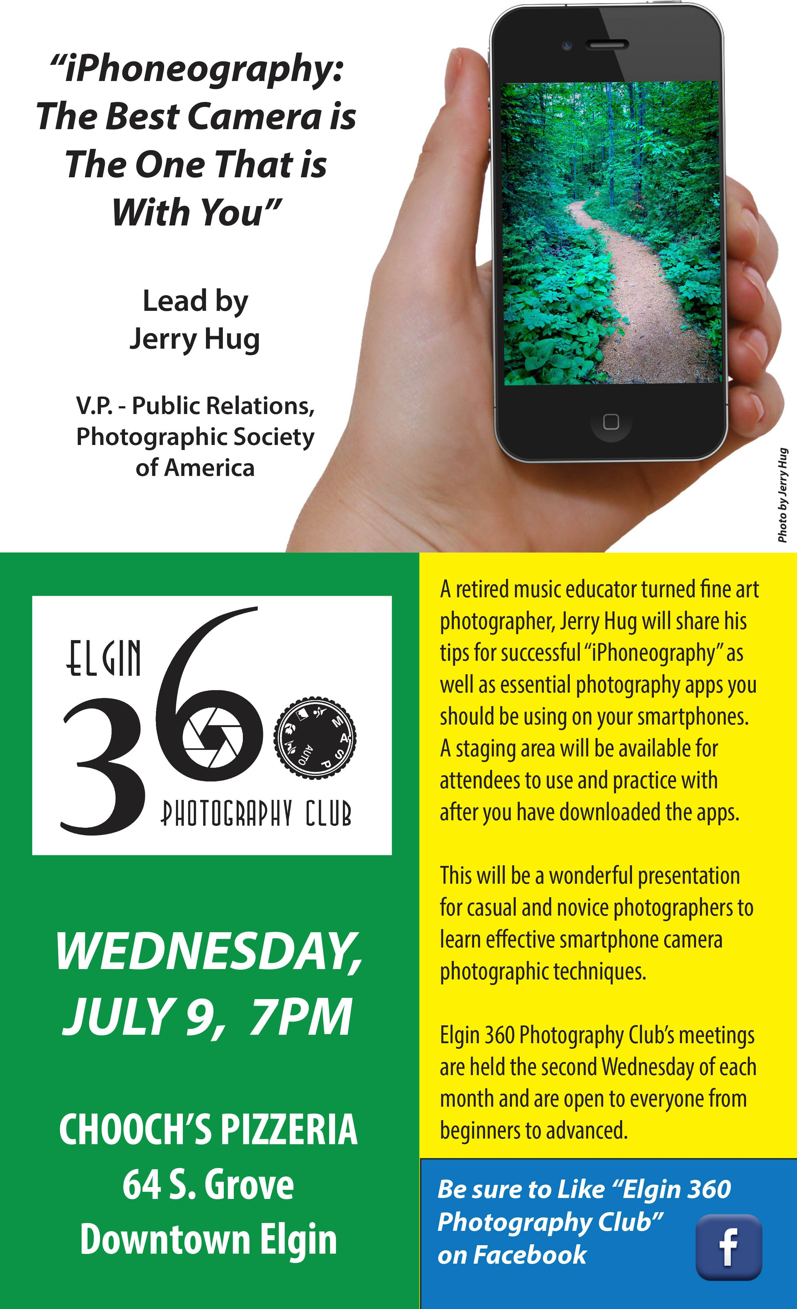 Elgin 360 Photography Club July Poster