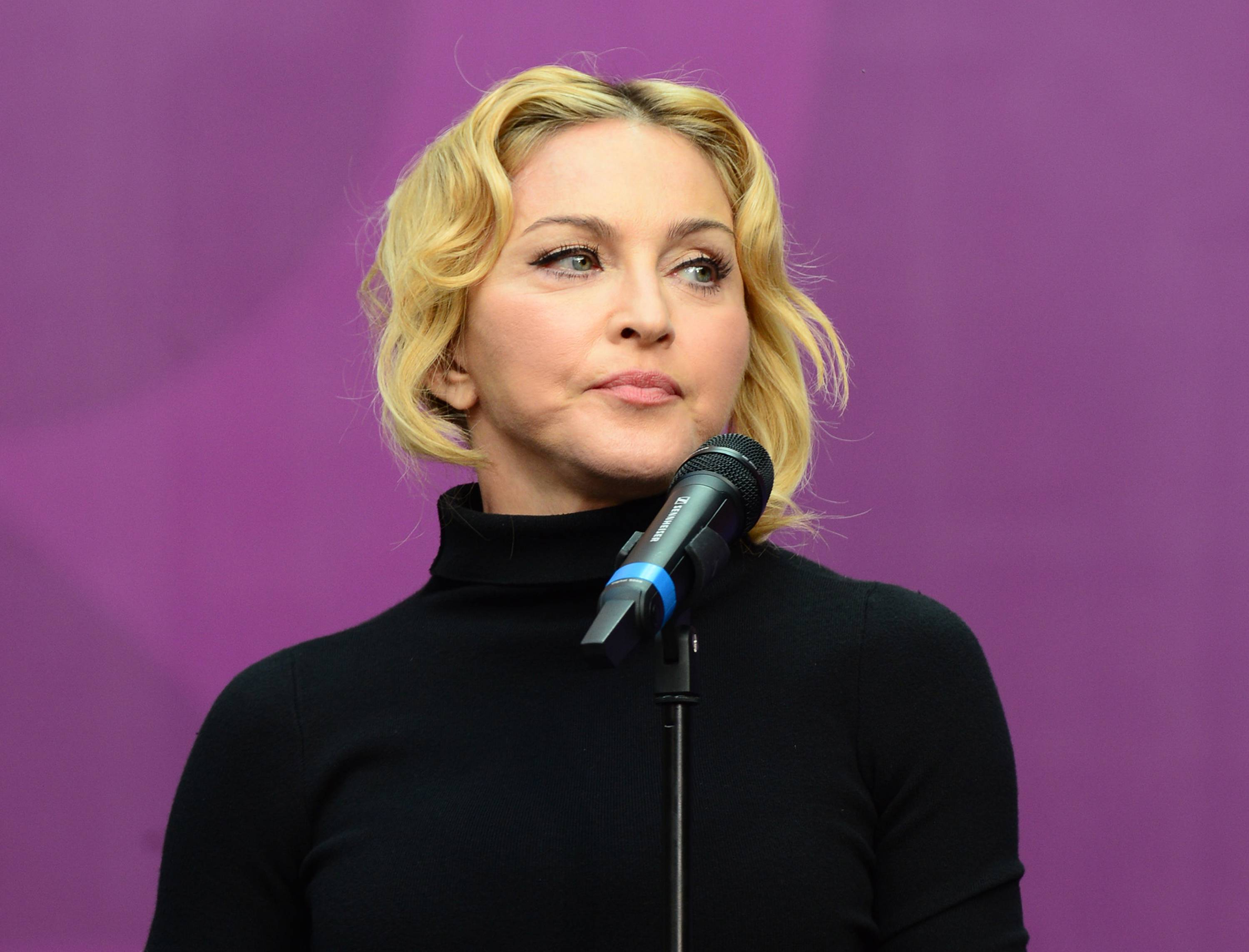 Madonna turned up for jury duty at a New York City courthouse Monday but was dismissed within two hours. Court system spokesman David Bookstaver says officials cut her loose because there were plenty of prospective jurors for the day's needs.