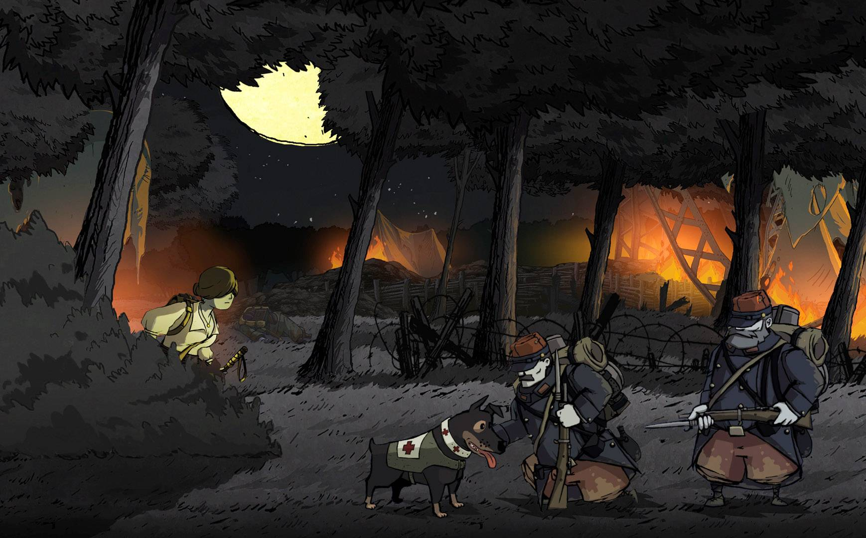 "Characters are much more sympathetic in ""Valiant Hearts: The Great War."""