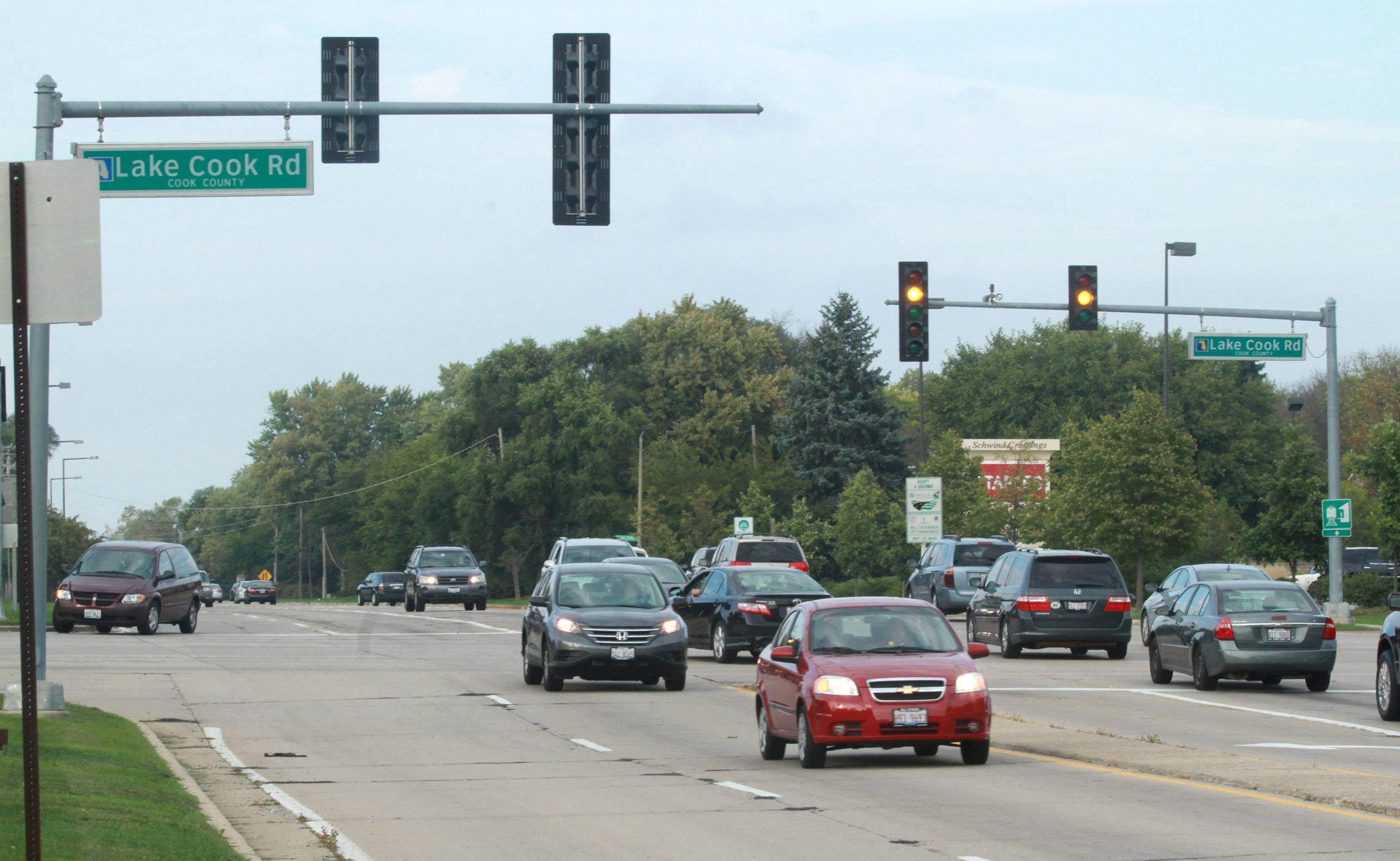 Buffalo Grove officials this week agreed to ease some traffic restrictions near Lake-Cook and Weiland roads that were designed to discourage drivers from avoiding the heavily traveled intersection by using smaller roads nearby.